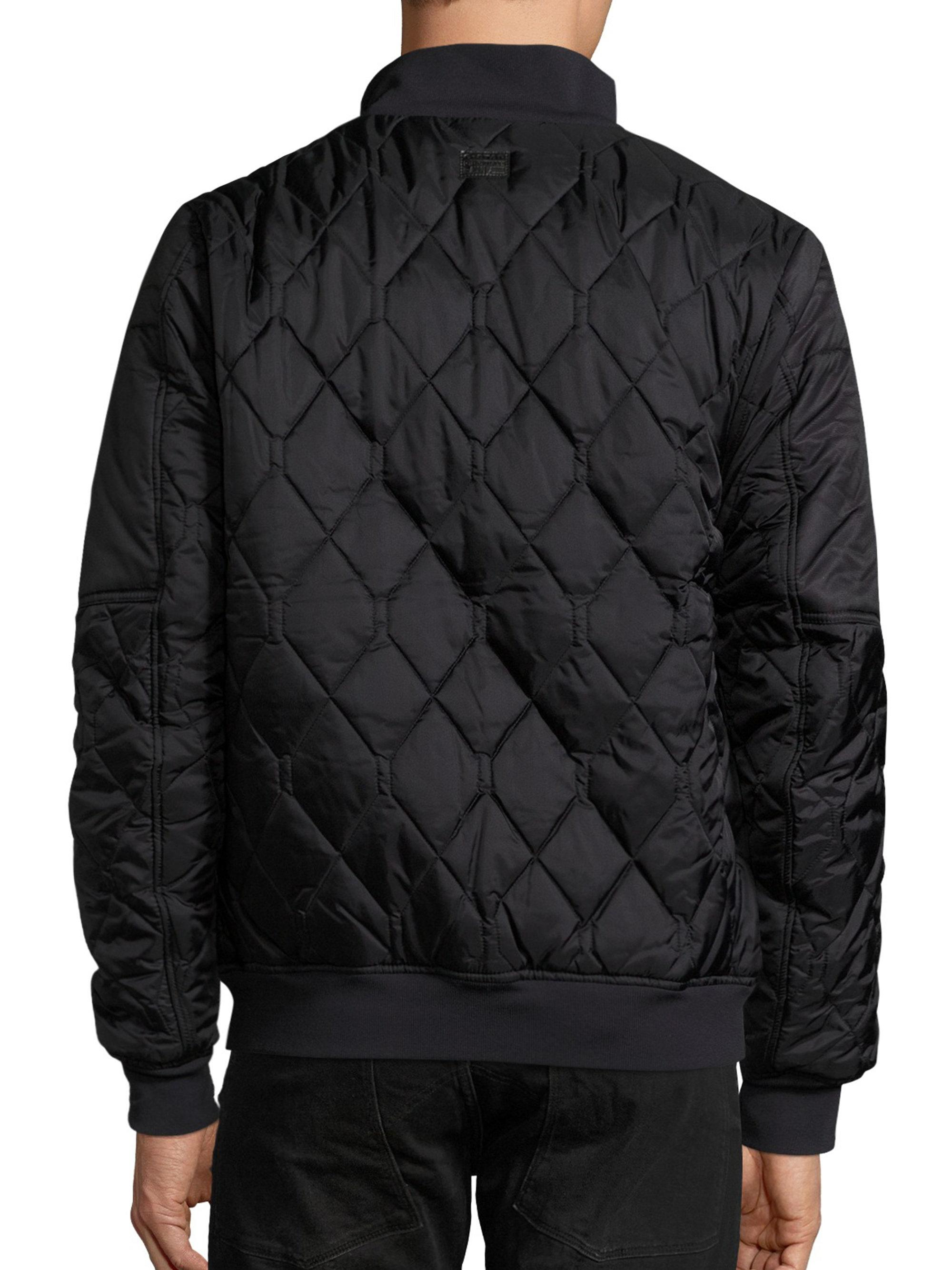 Lyst G Star Raw Quilted Bomber Jacket For Men
