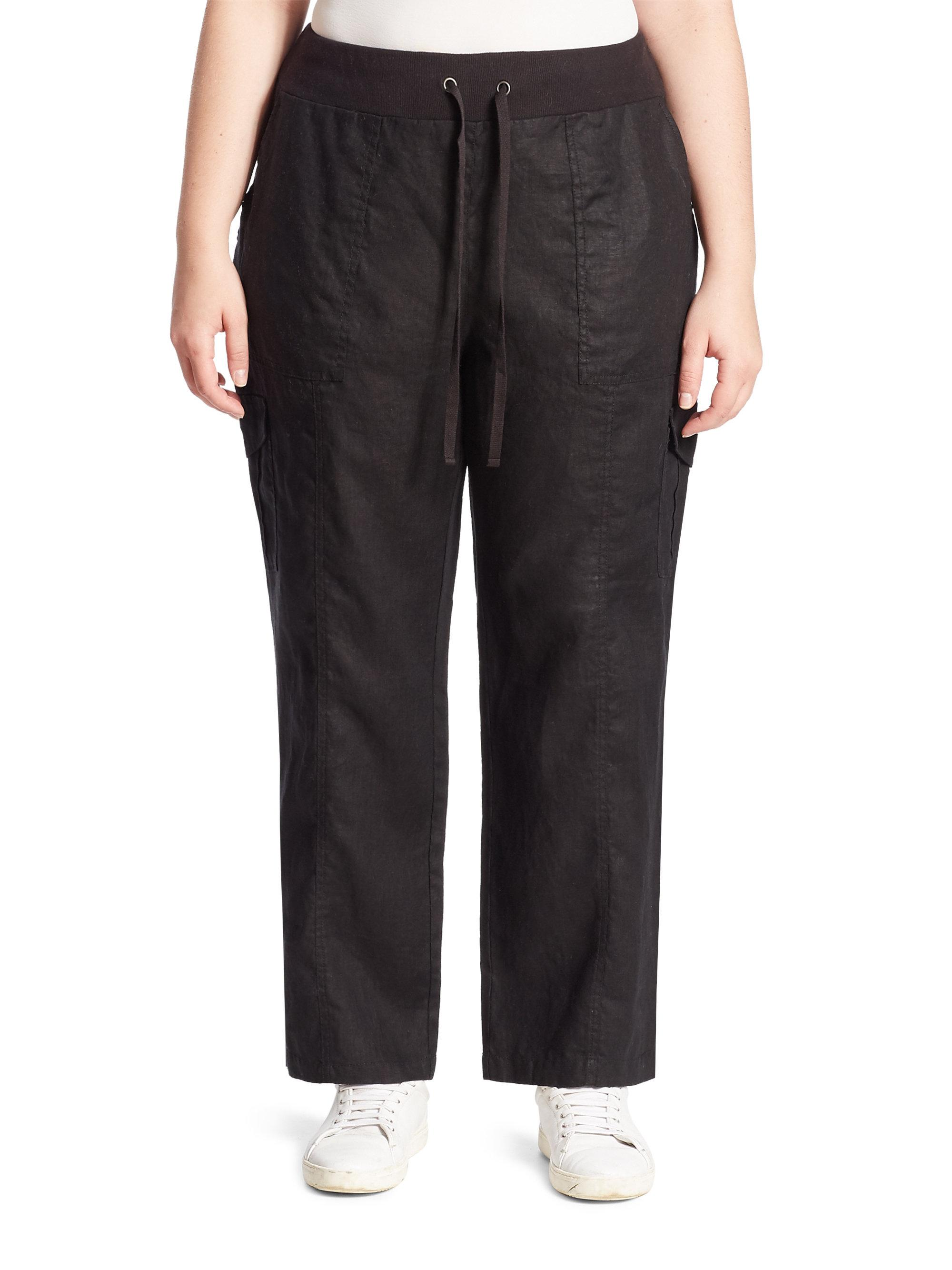 Beautiful Vince Thick Linen Cargo Pants In White  Lyst