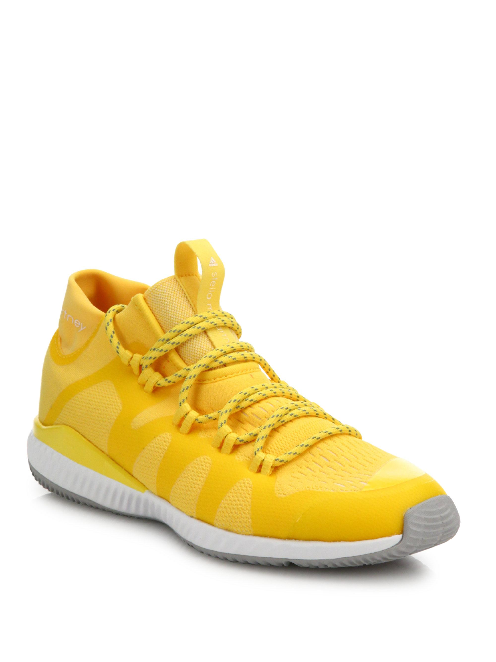55f3a5254 Lyst - adidas By Stella McCartney Crazymove Bounce Mid-top Trainer ...