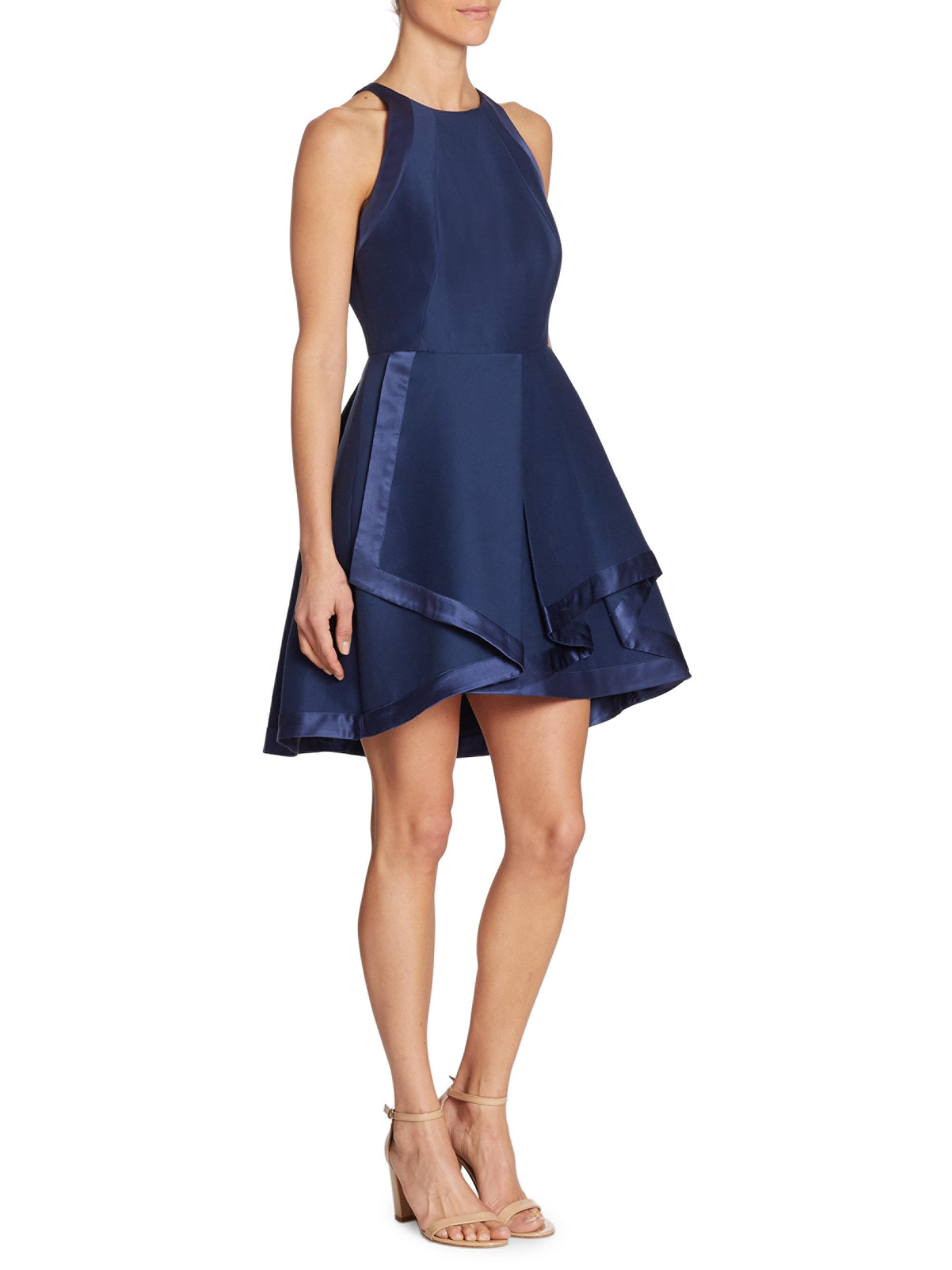 Find Blue high neck dresses at ShopStyle. Shop the latest collection of Blue high neck dresses from the most popular stores - all in one place.