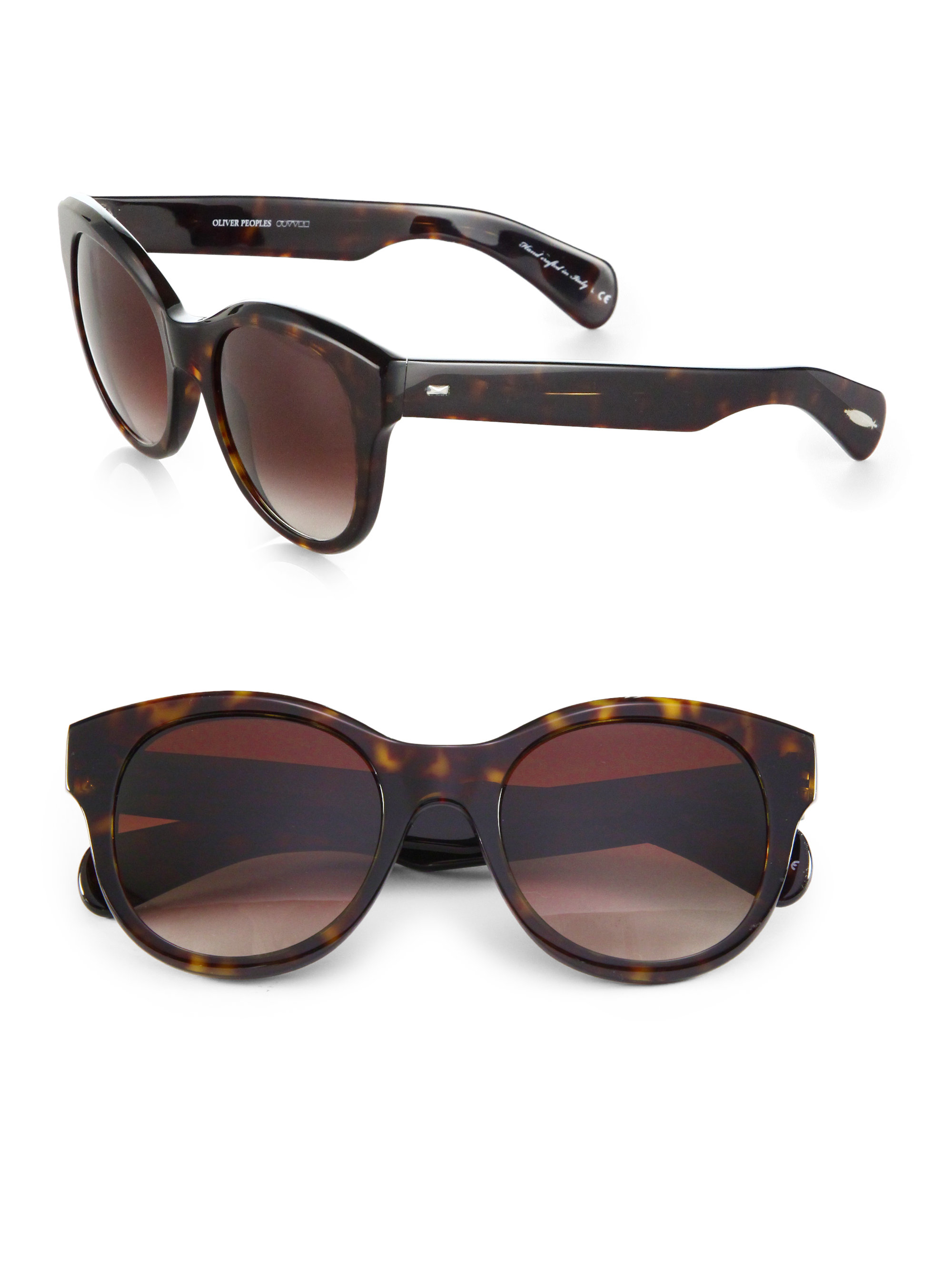 Oversized Oval Sunglasses  oliver peoples jacey 53mm oversized oval sunglasses in brown lyst