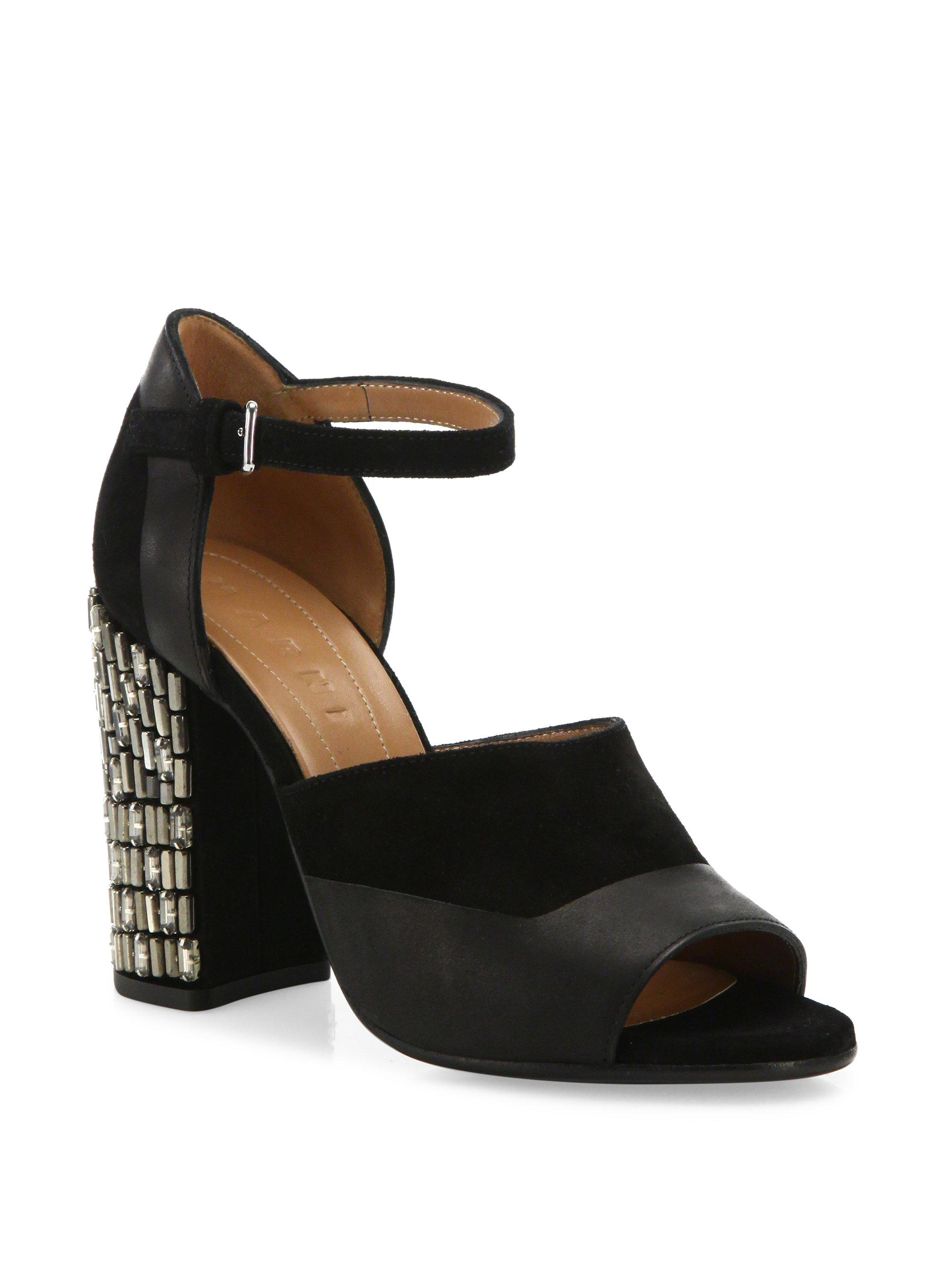 sale deals discount best prices Marni Embellished Ankle-Strap Pumps outlet cheap online cheap fashionable lnqUJgmXv8