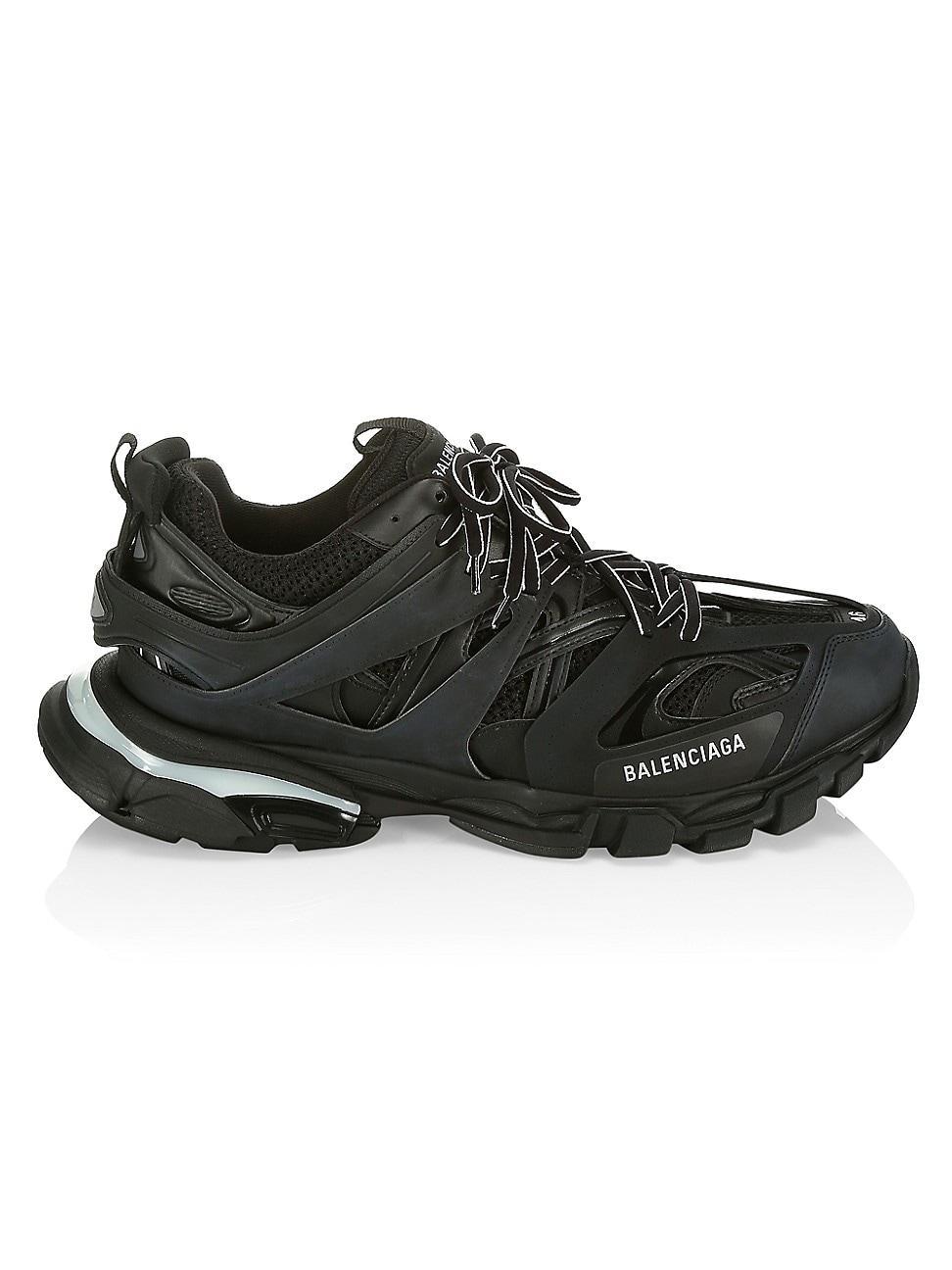 Balenciaga Track Led Sneakers in Black