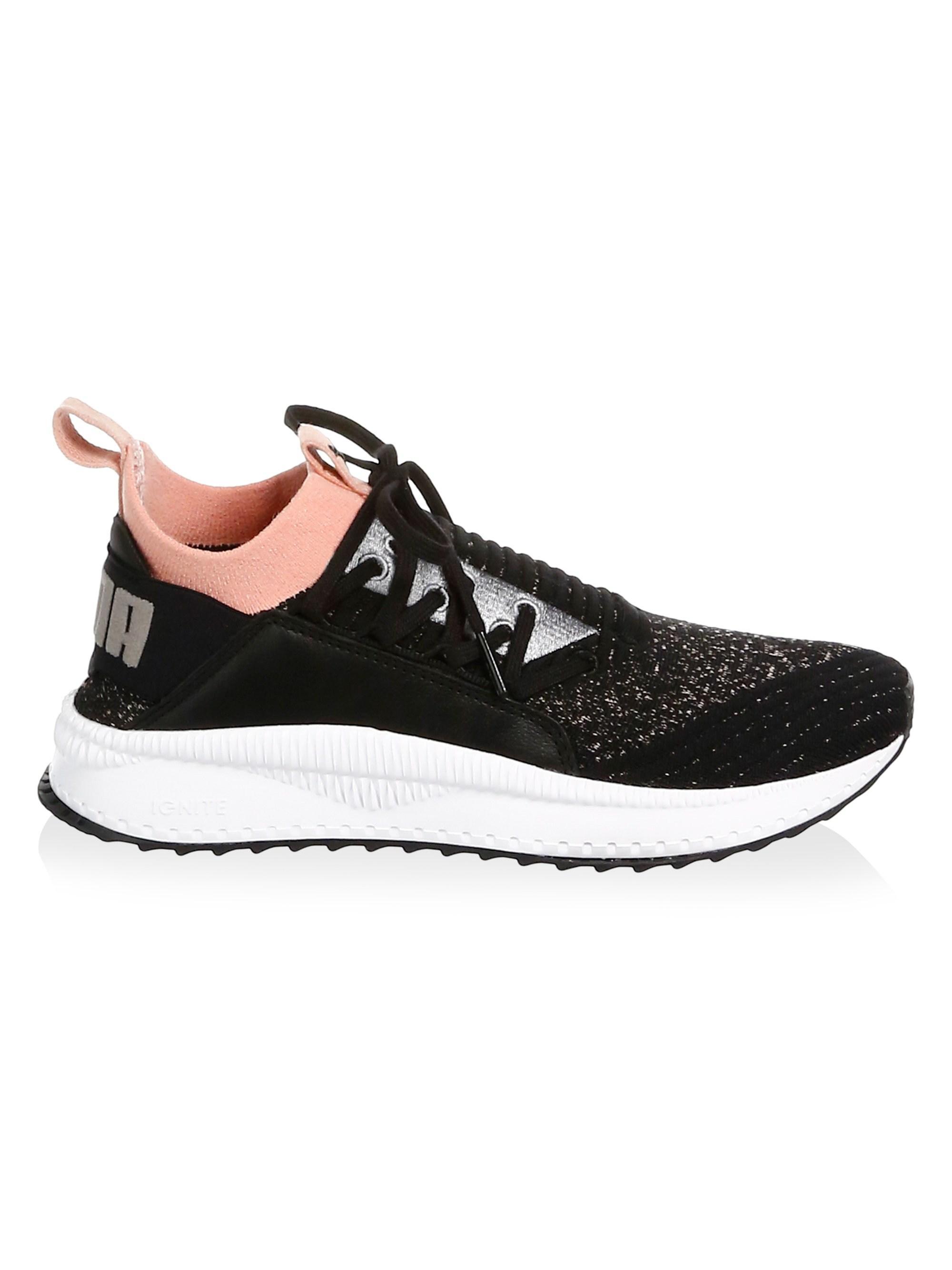 Lyst - PUMA Women s Tsugi Shinsei Knit Fabric Running Sneakers ... 0889005d2