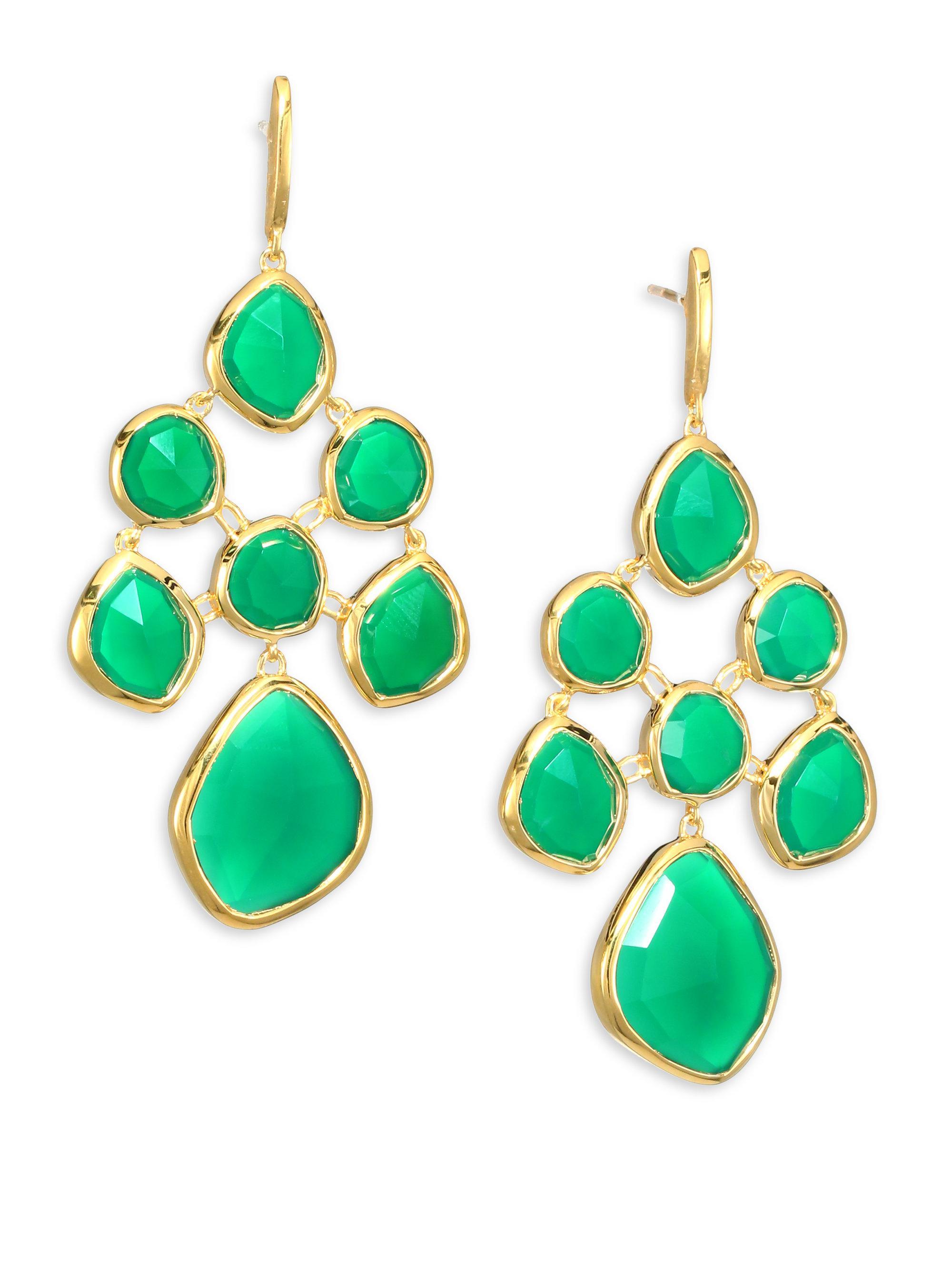 s chandelier lampadario en light green cristallo with five crystal drops verde italian product