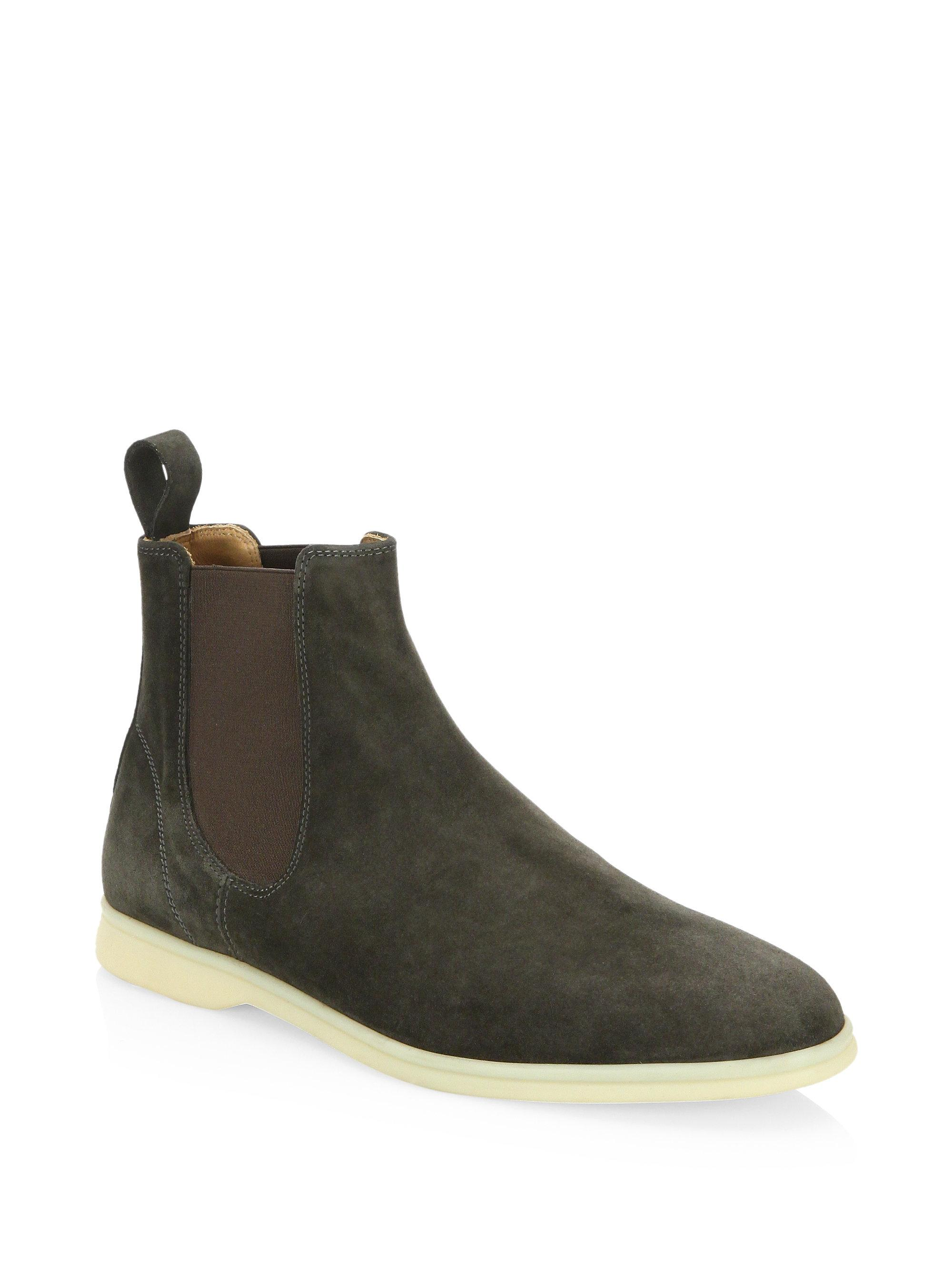 Loro Piana Suede Chelsea Boots discount wiki outlet latest collections discount wholesale price lowest price online hL4NBxH
