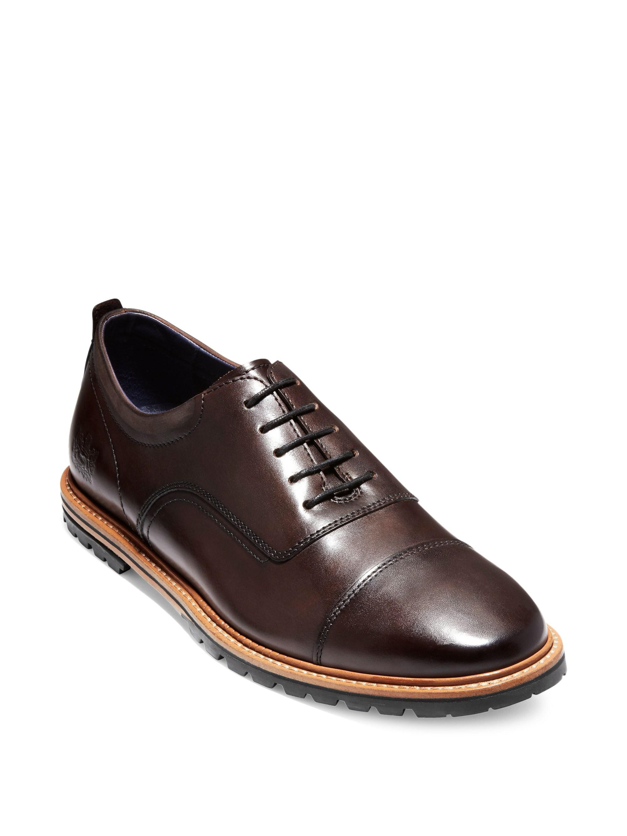 15d0a9ed4d6 Lyst - Cole Haan Raymond Grand Cap Toe Oxfords in Brown for Men