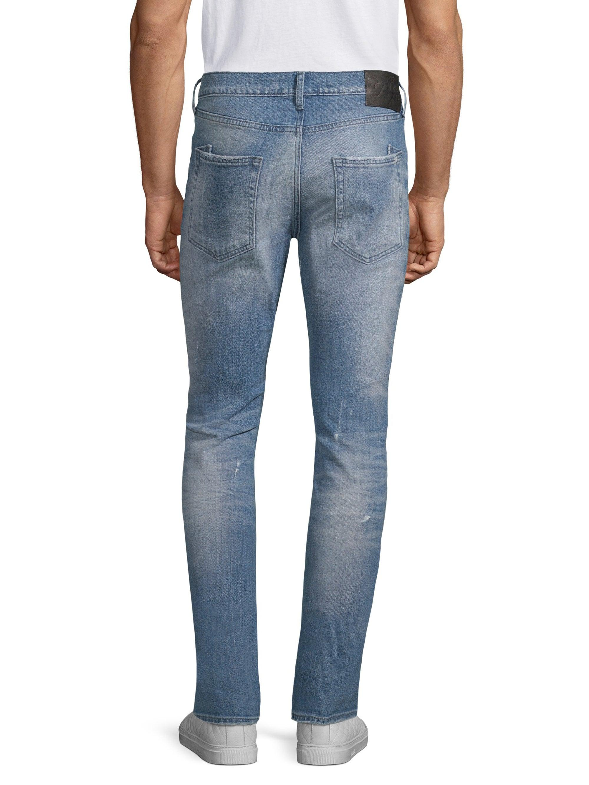 6338a66d9bf Lyst - PRPS Windsor Slim-fit Distressed Jeans in Blue for Men