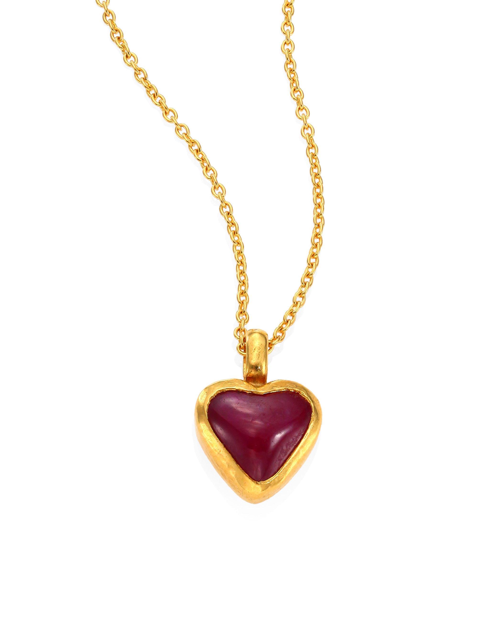 Gurhan Amulet Hue Pendant Necklace 6ZqTwei