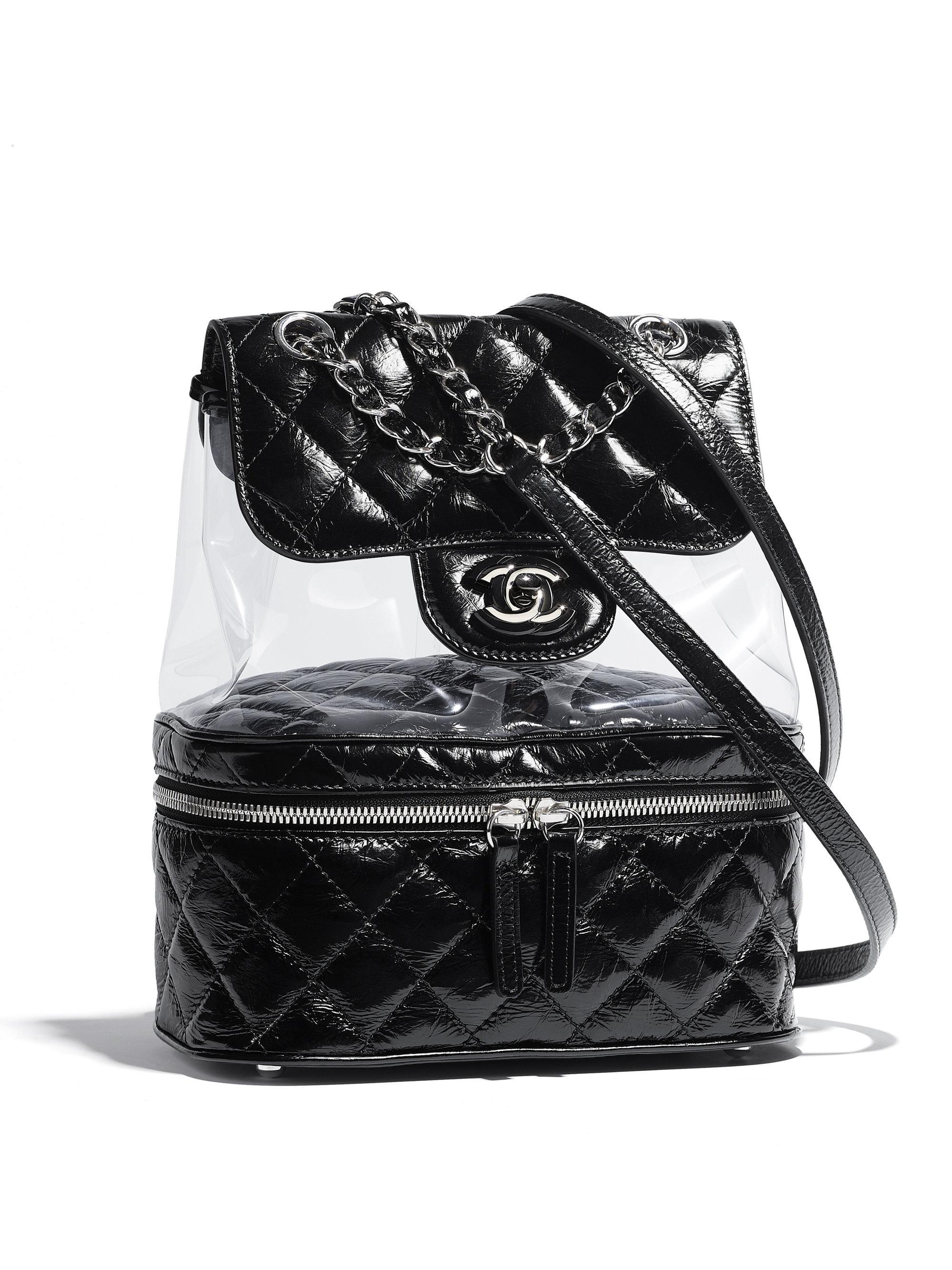 29f7fdce0bca35 Chanel Backpack in Black - Lyst
