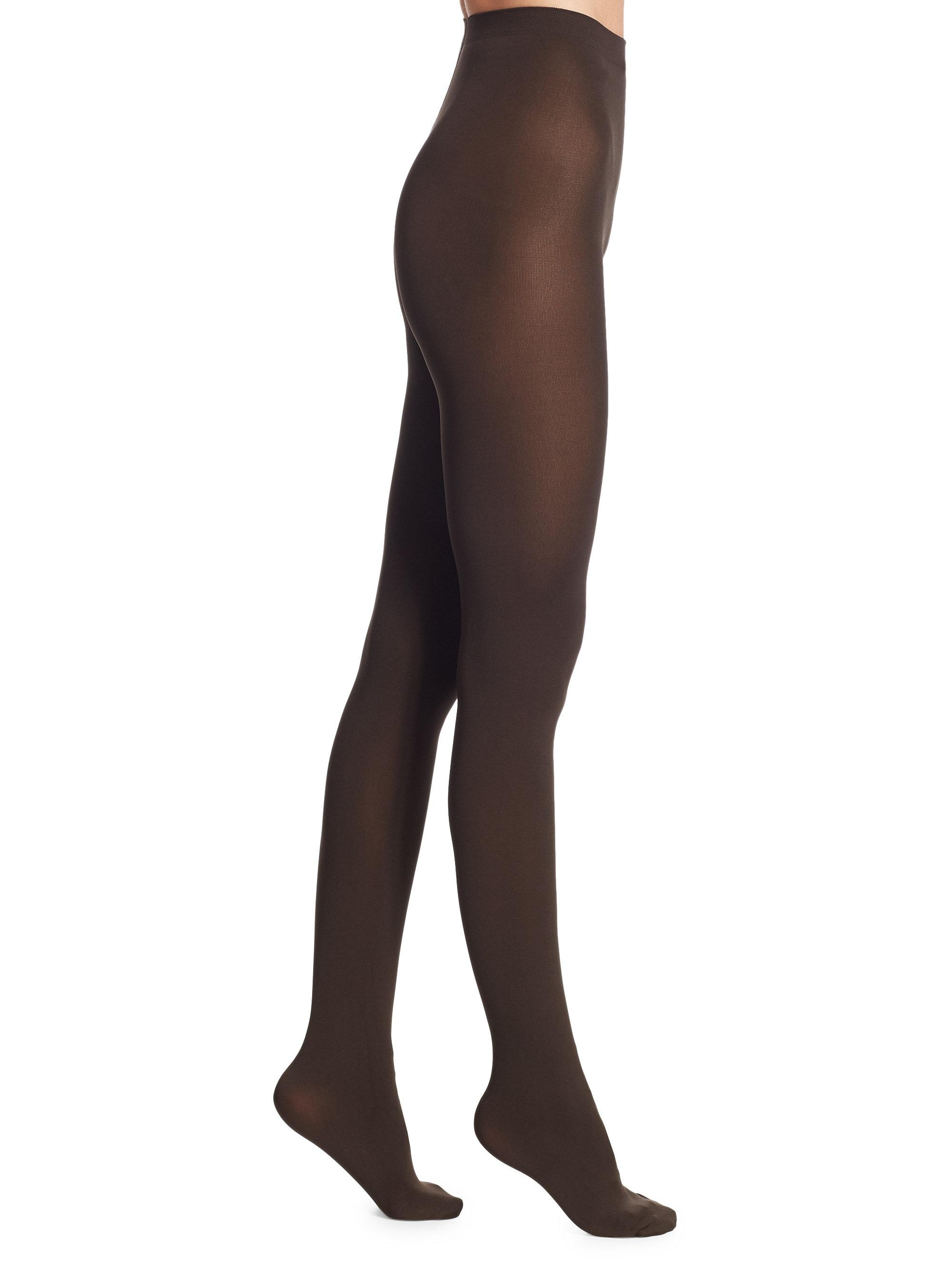Wolford Mat Opaque 80 Tights In Brown Lyst
