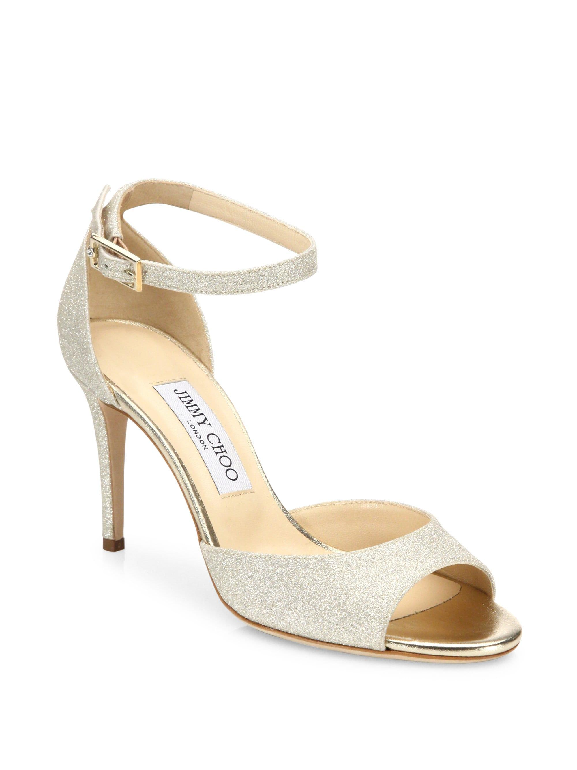 b62eacd7848 Gallery. Previously sold at  Saks Fifth Avenue · Women s Jimmy Choo Glitter  ...
