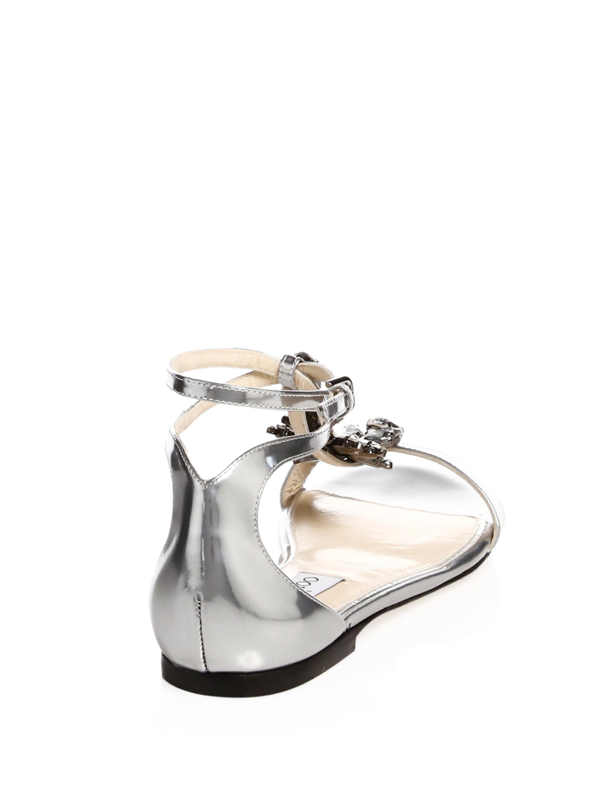 Jimmy choo Averie Flat Gladiator Sandals