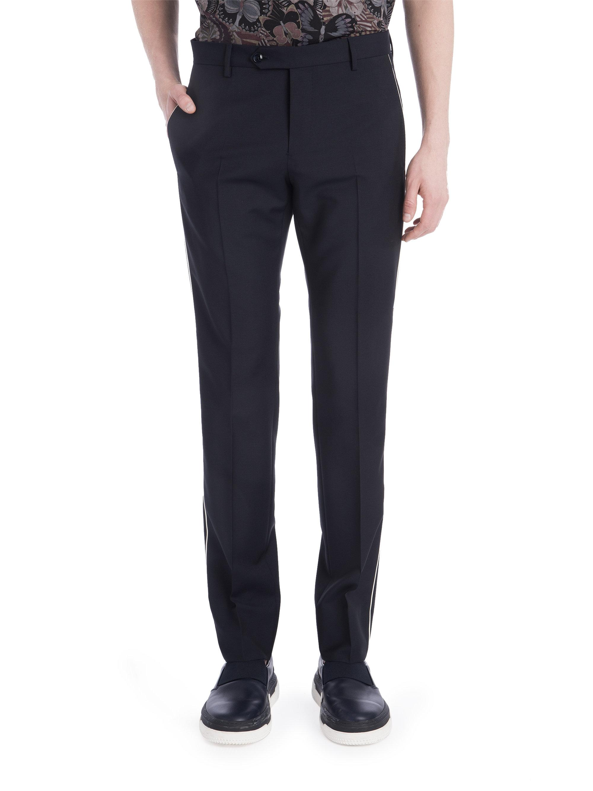 Piping trousers - Blue Valentino qkPqm6VVw