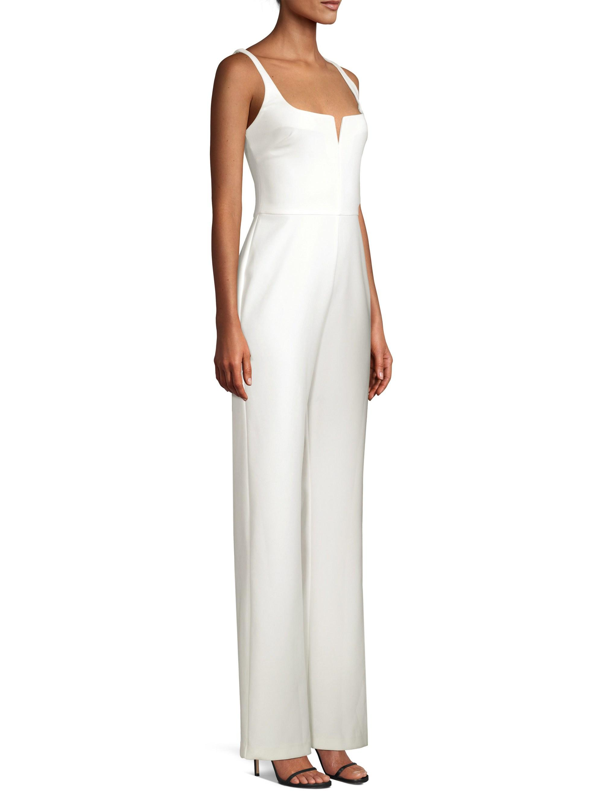 c0268d48ee4 Lyst - Likely Constance Sleeveless Jumpsuit in White