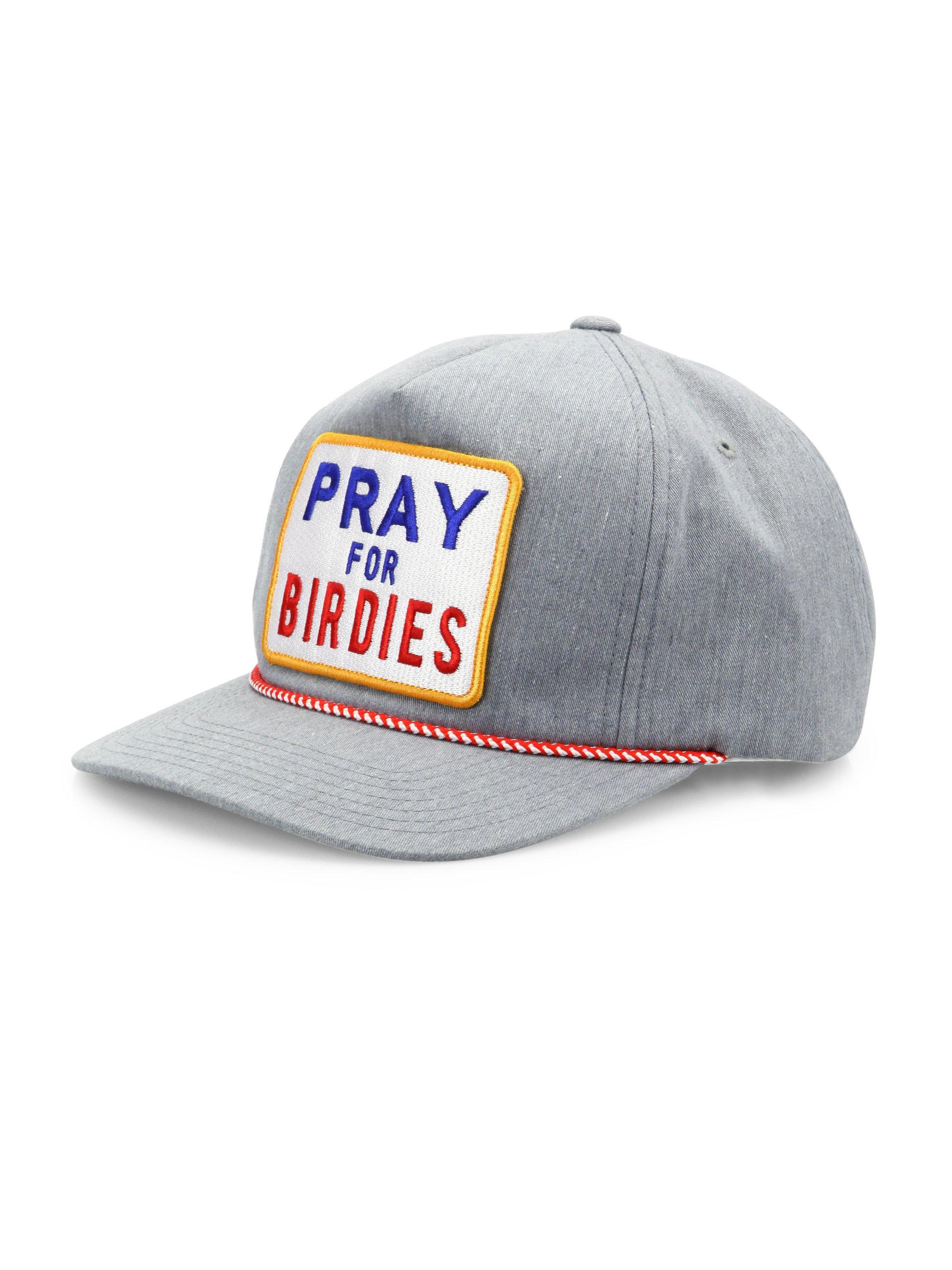 Lyst - G FORE Pray For Birdies Cap in Gray for Men e34e20dca16