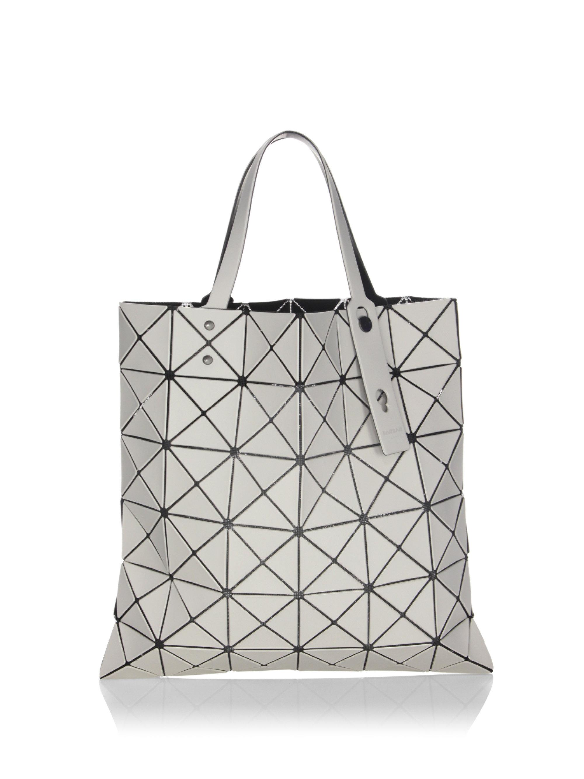 Lyst - Bao Bao Issey Miyake Lucent Frost Tote in Gray 33f7551740487