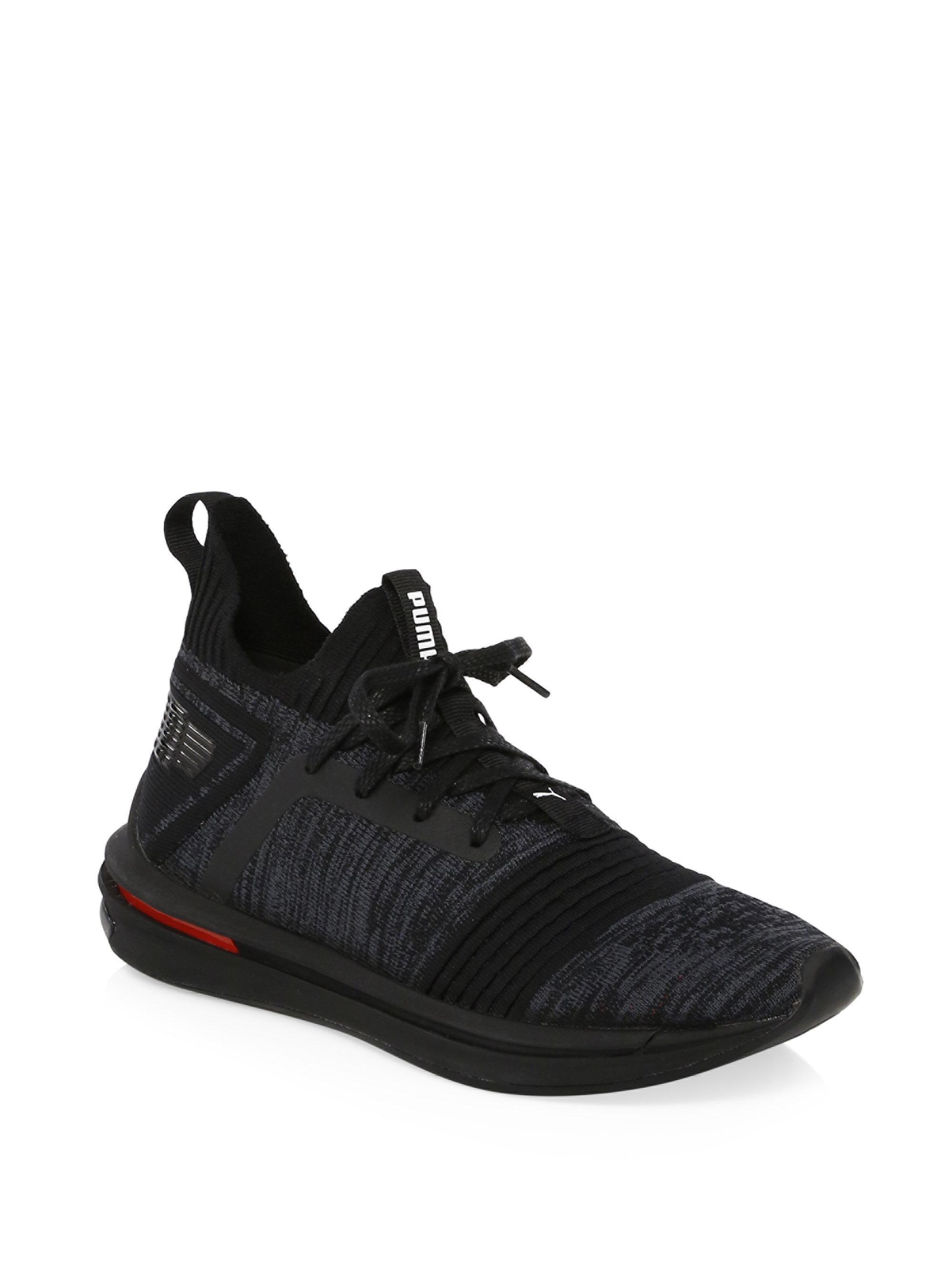 online store fe7db 29ede puma-black-Ignite-Limitless-Evoknit-Sneakers.jpeg