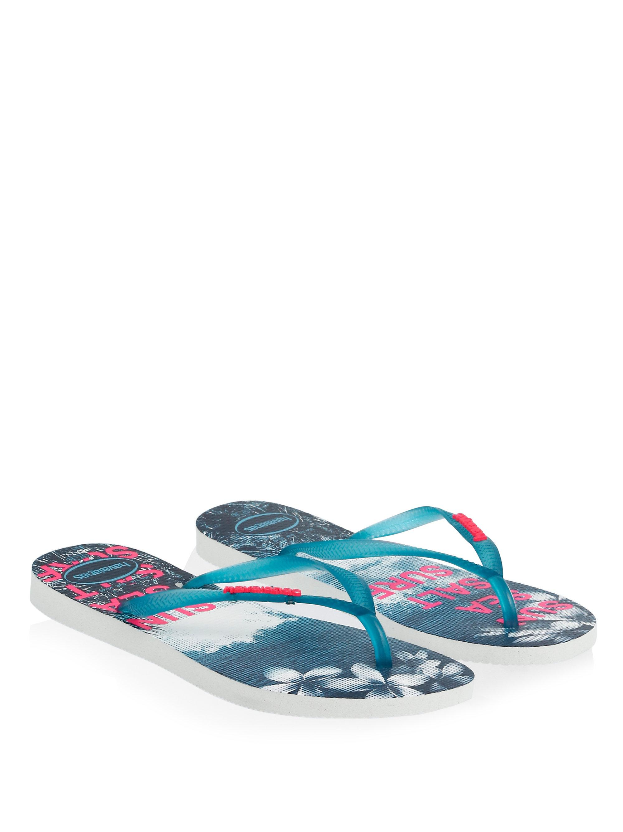 Havaianas Tropical Slim Paisage Flip Flops u3UXx0pajP