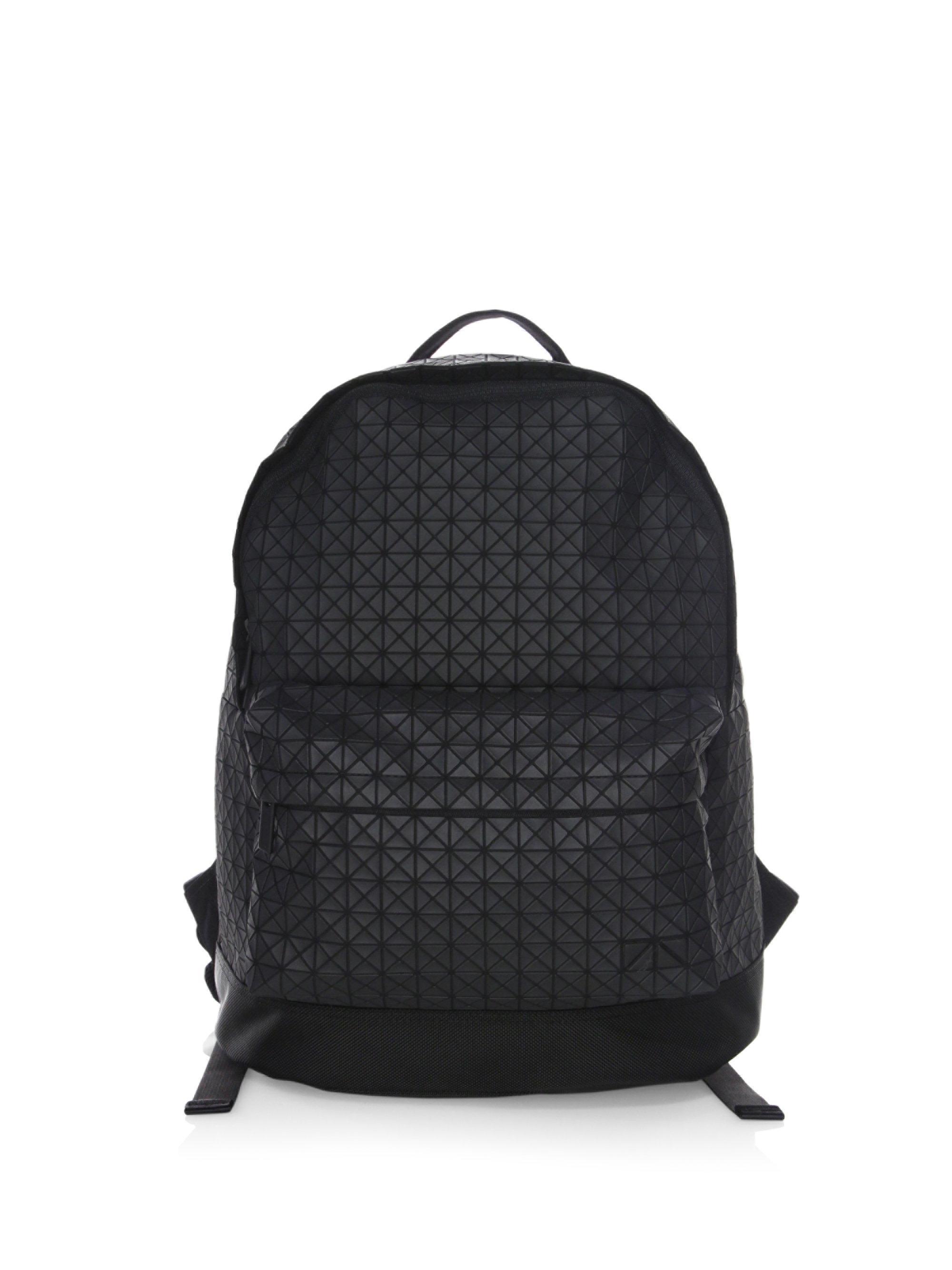 0afcda5842 Bao Bao Issey Miyake Men s Geometric Daypack Backpack - Matte Black ...