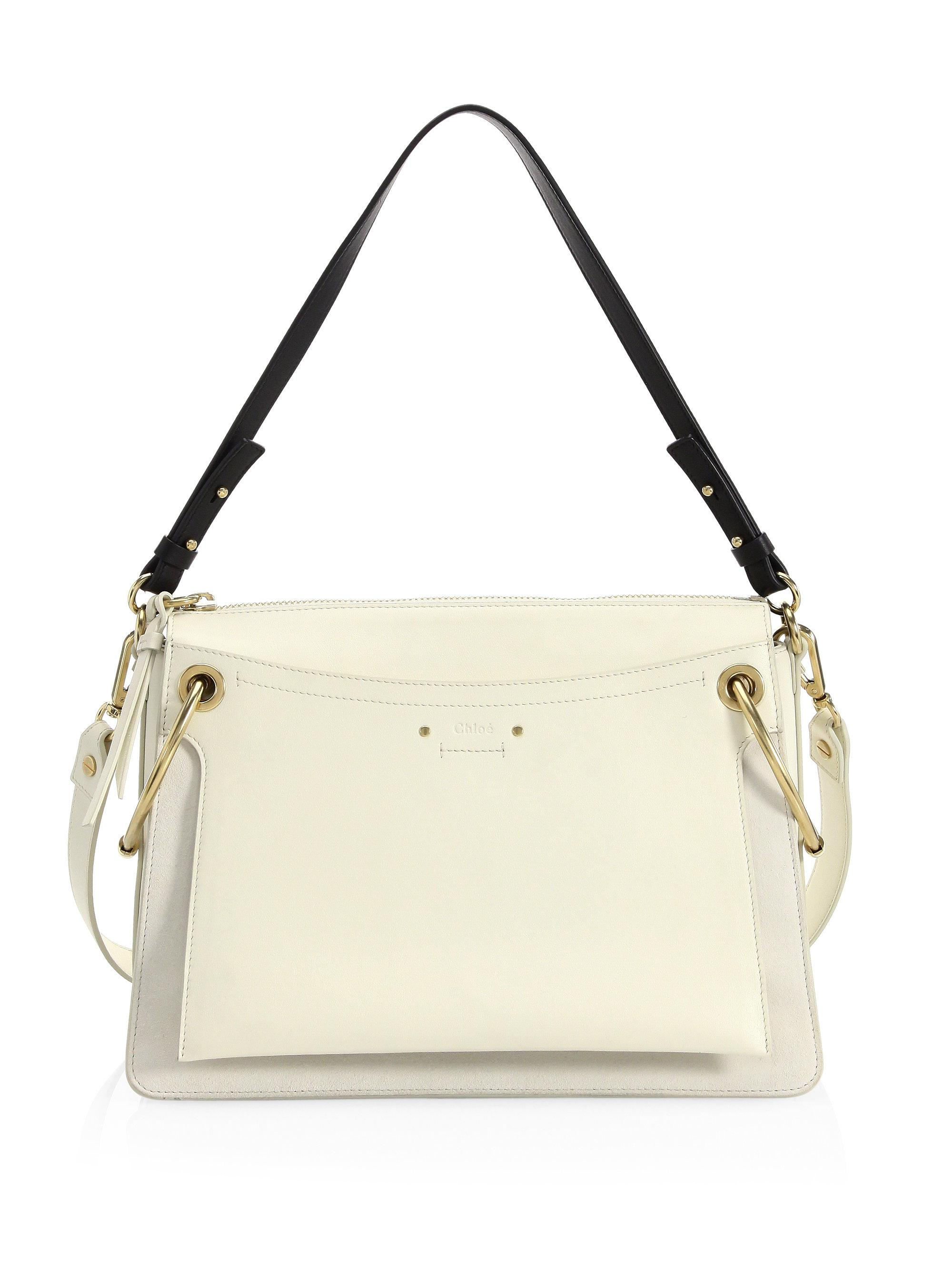 Womens Roy Small Leather Shoulder Bag Chlo 4nhD3y