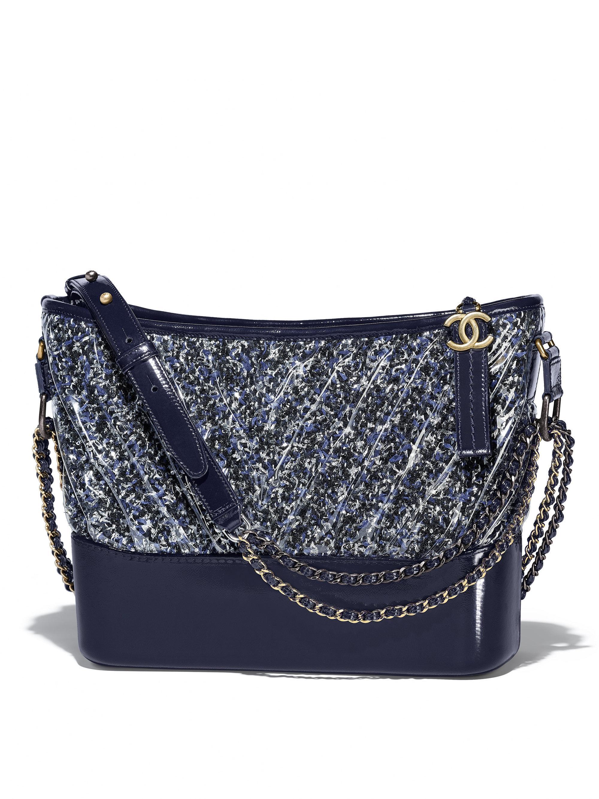 6ad4d53cde Chanel Blue 's Gabrielle Hobo Bag