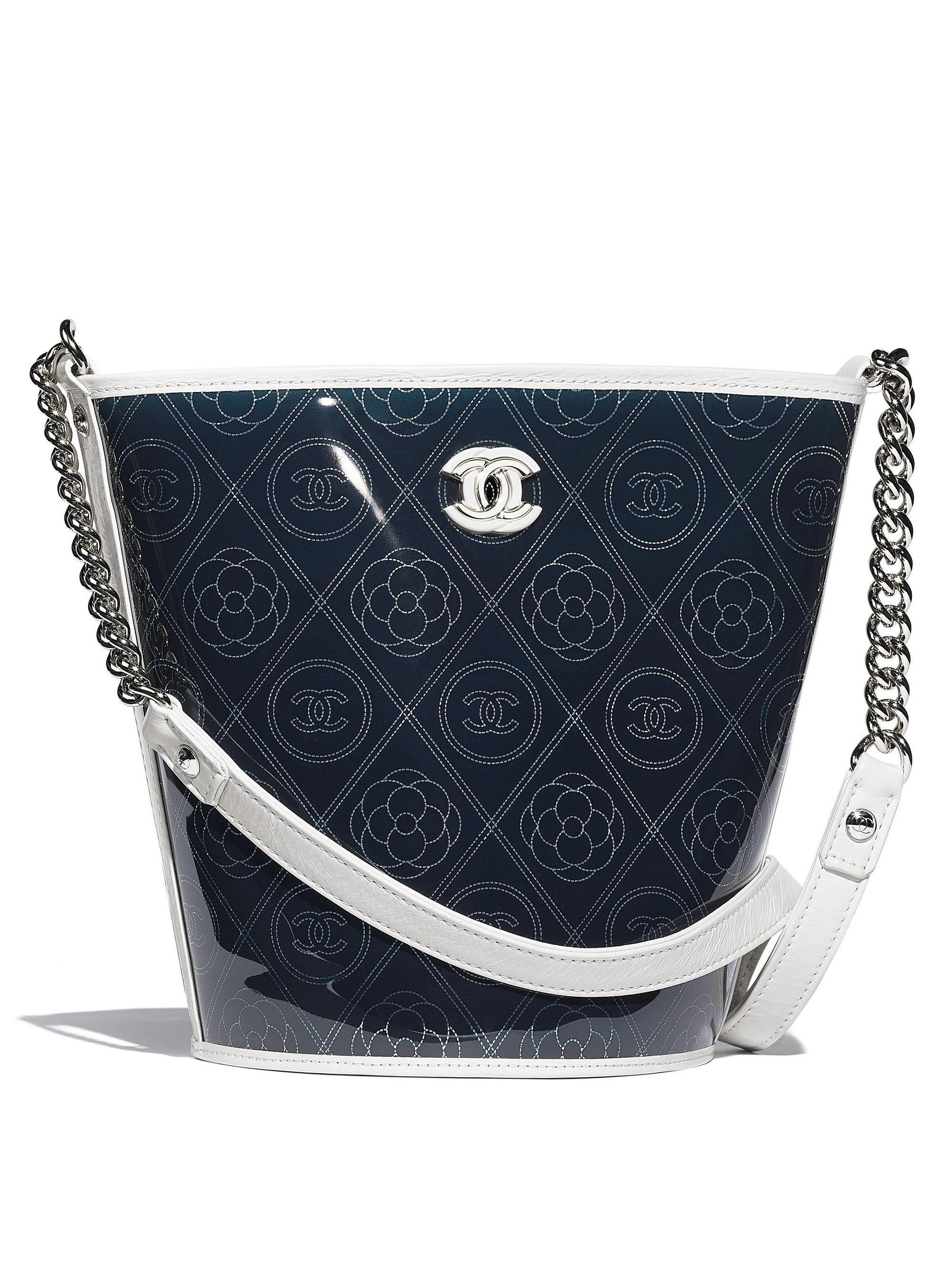 Chanel White Bucket Bag