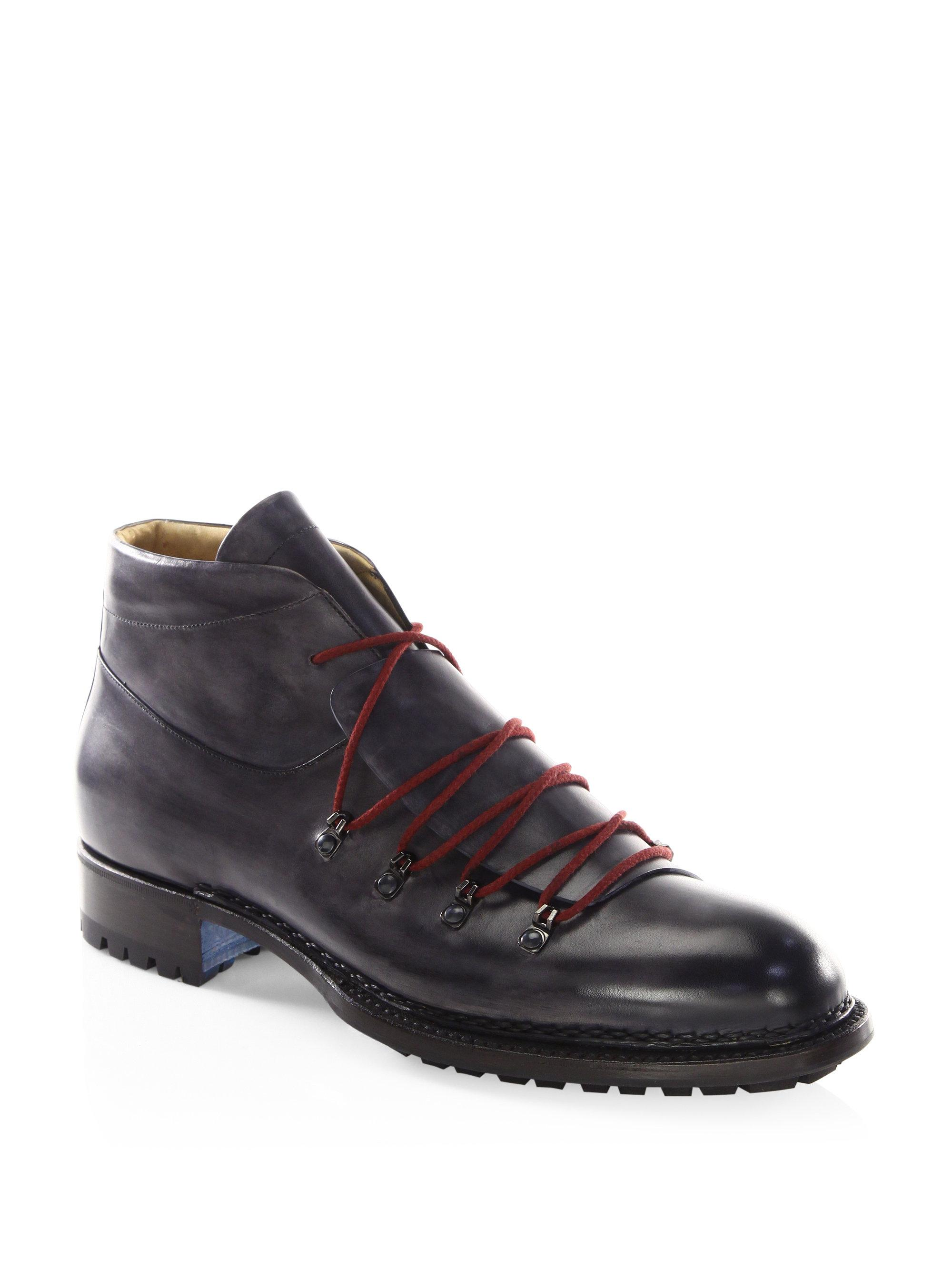 Sutor Mantellassi Boris Master Leather Hiking Boot Roccia Mens Shoes Online new sale