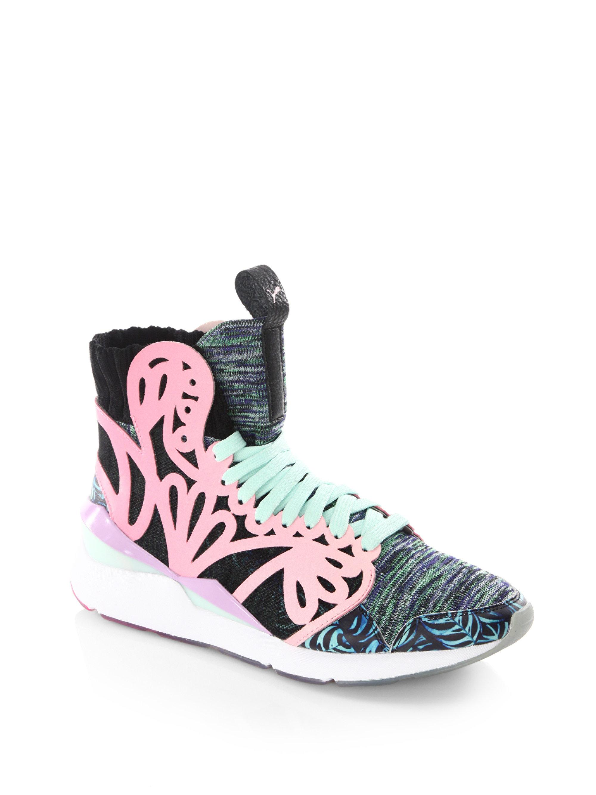 Puma Pearl Cage Low-Top Sneakers tyoLGLjqo