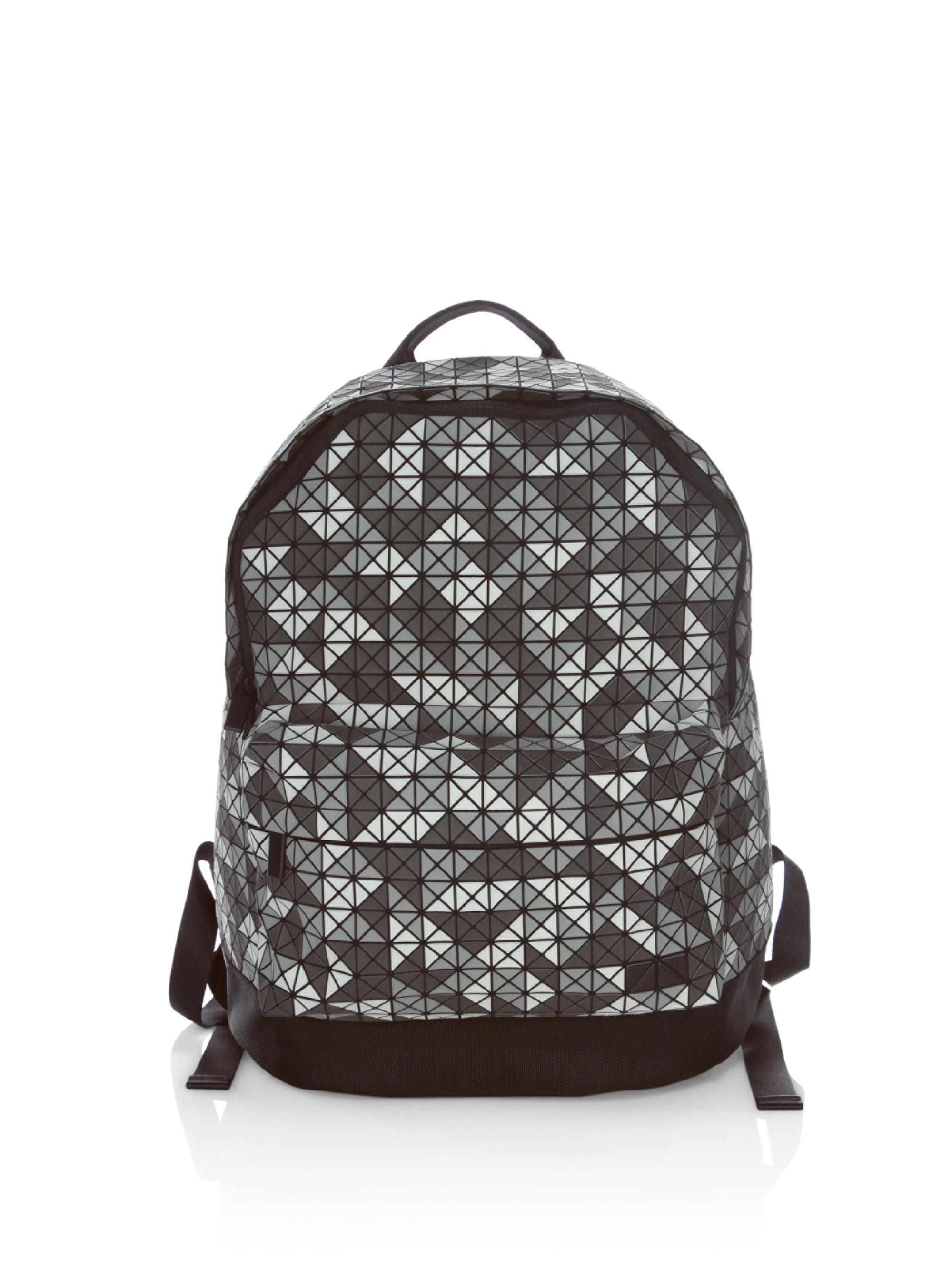 c1a87626d76f Lyst - Bao Bao Issey Miyake Symmetrical Daypack Backpack in Gray for Men