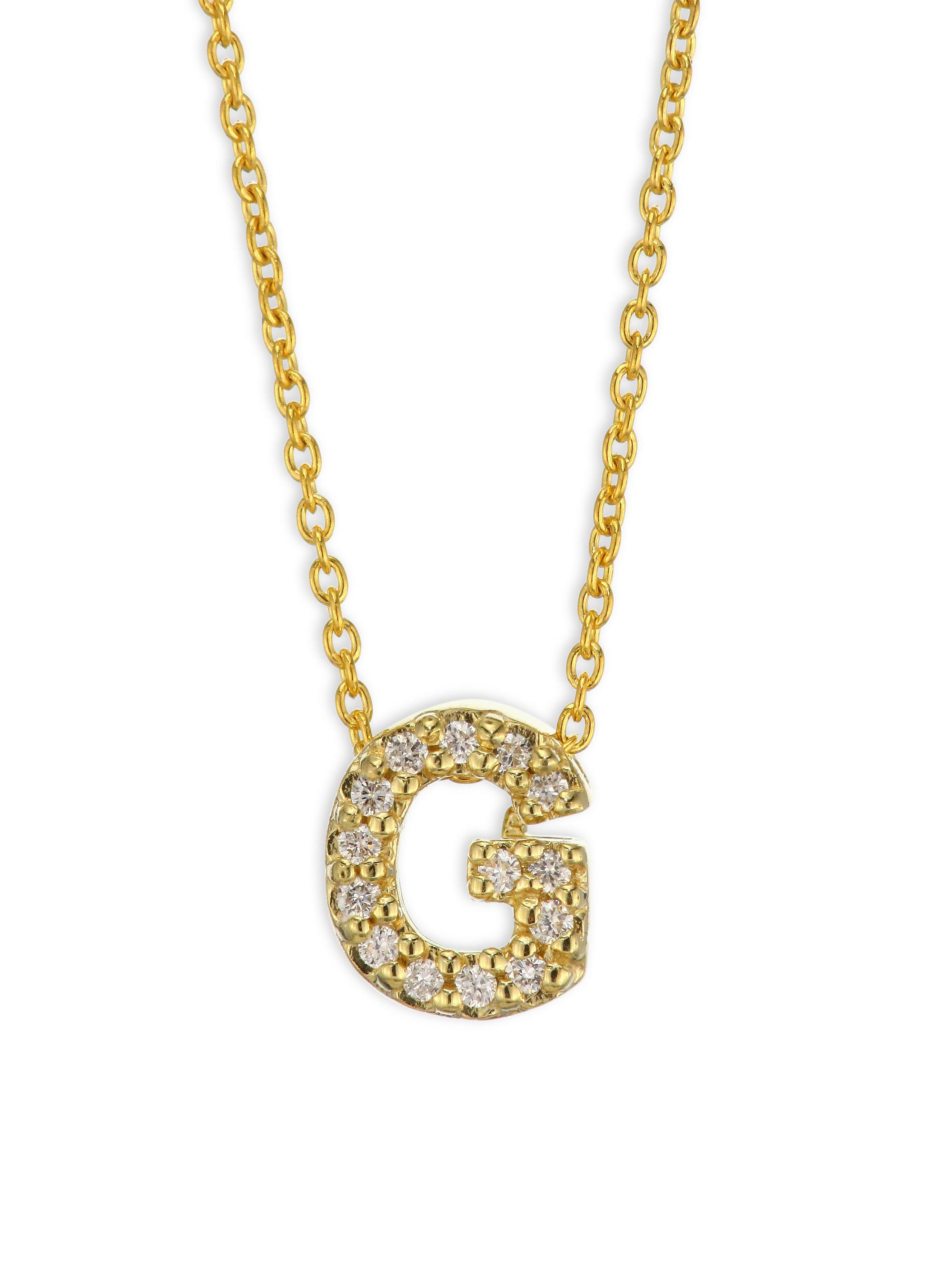 diamond gothic custom g image pave i pendant white diamonds and letter of necklace with