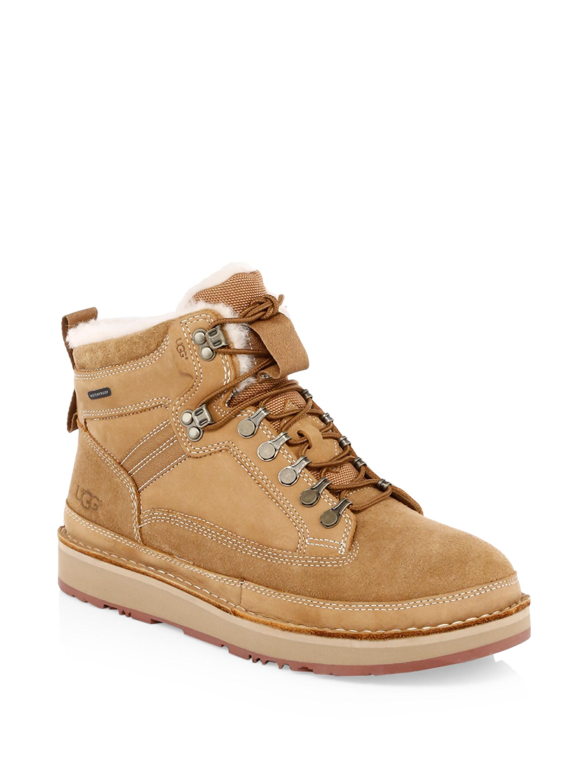 ac92e20ccff Men's Brown Avalanche Hiker Suede & Shearling Boots