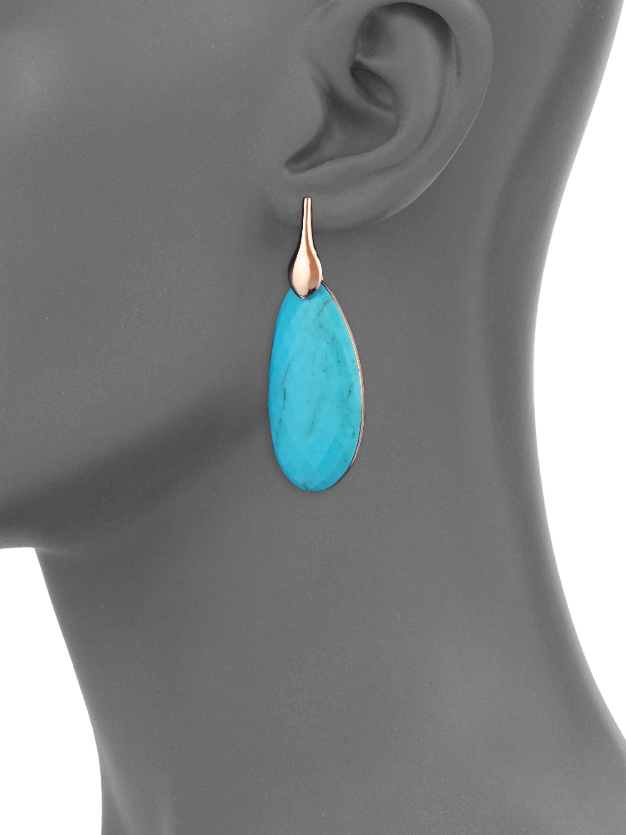 b6a71ea22b477 Monica Vinader Blue Nura Turquoise Earrings