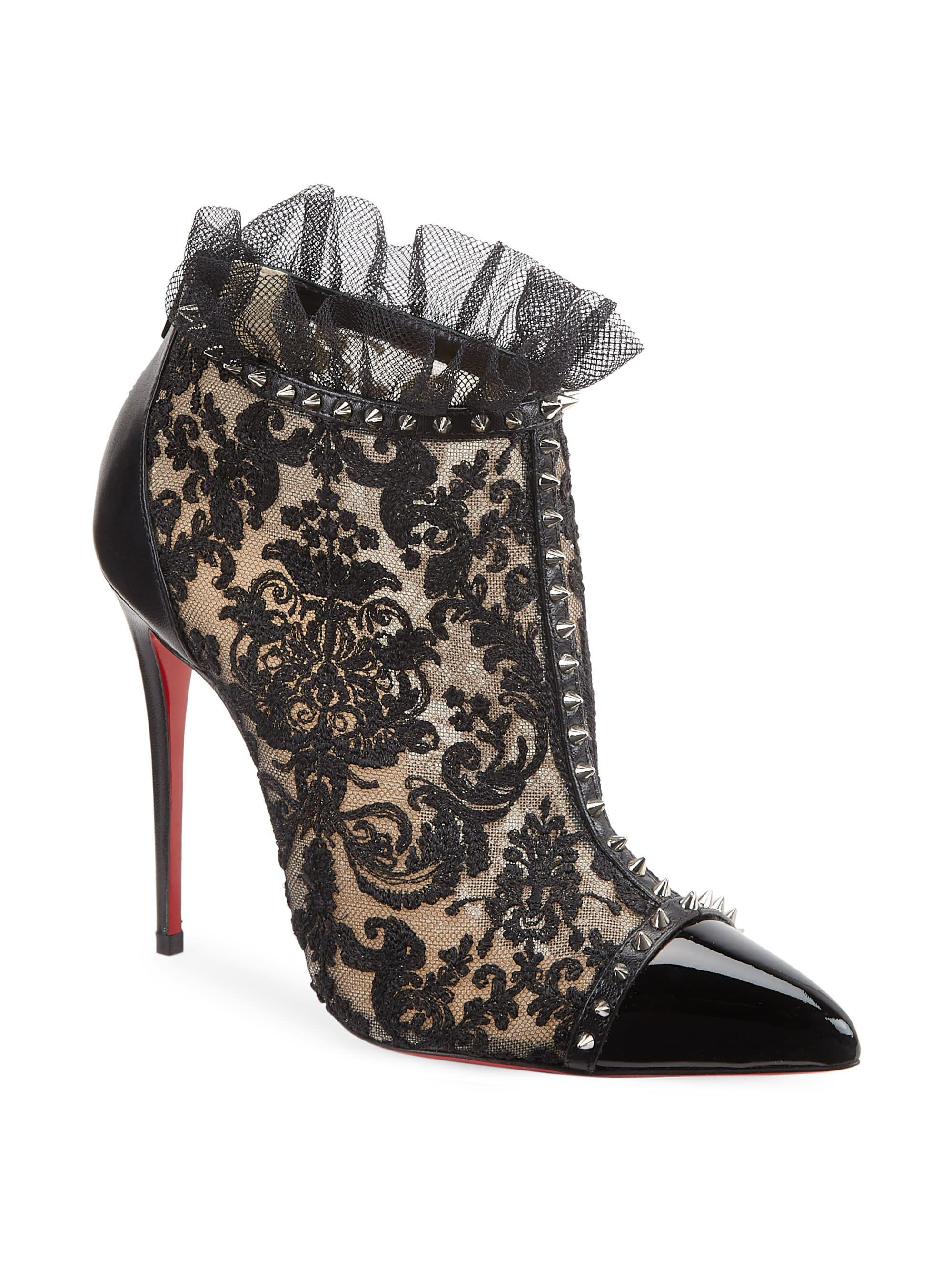 Christian Louboutin Pigalle 100 Studded