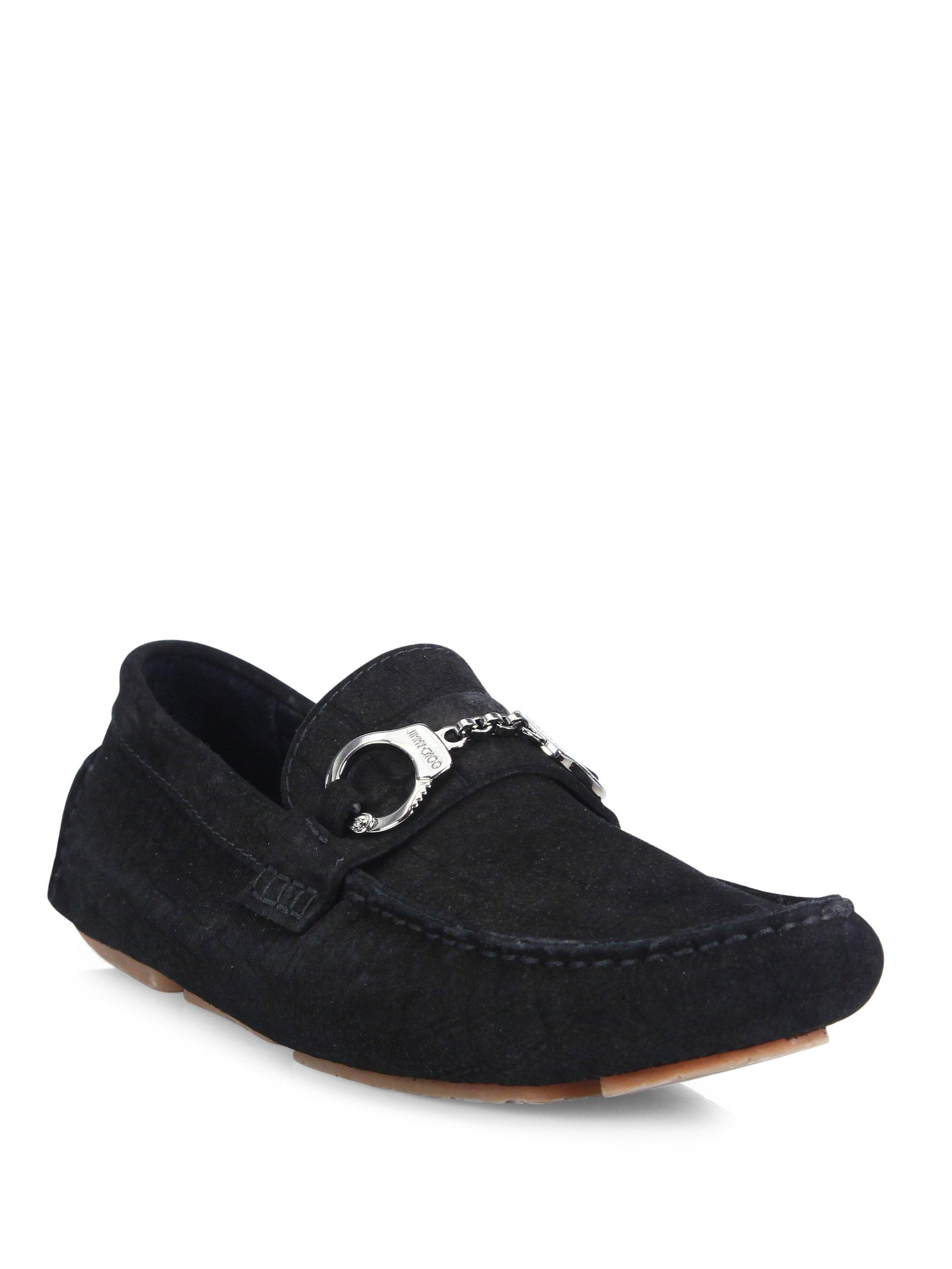 Jimmy chooHandcuff Leather Loafers oJuwPM