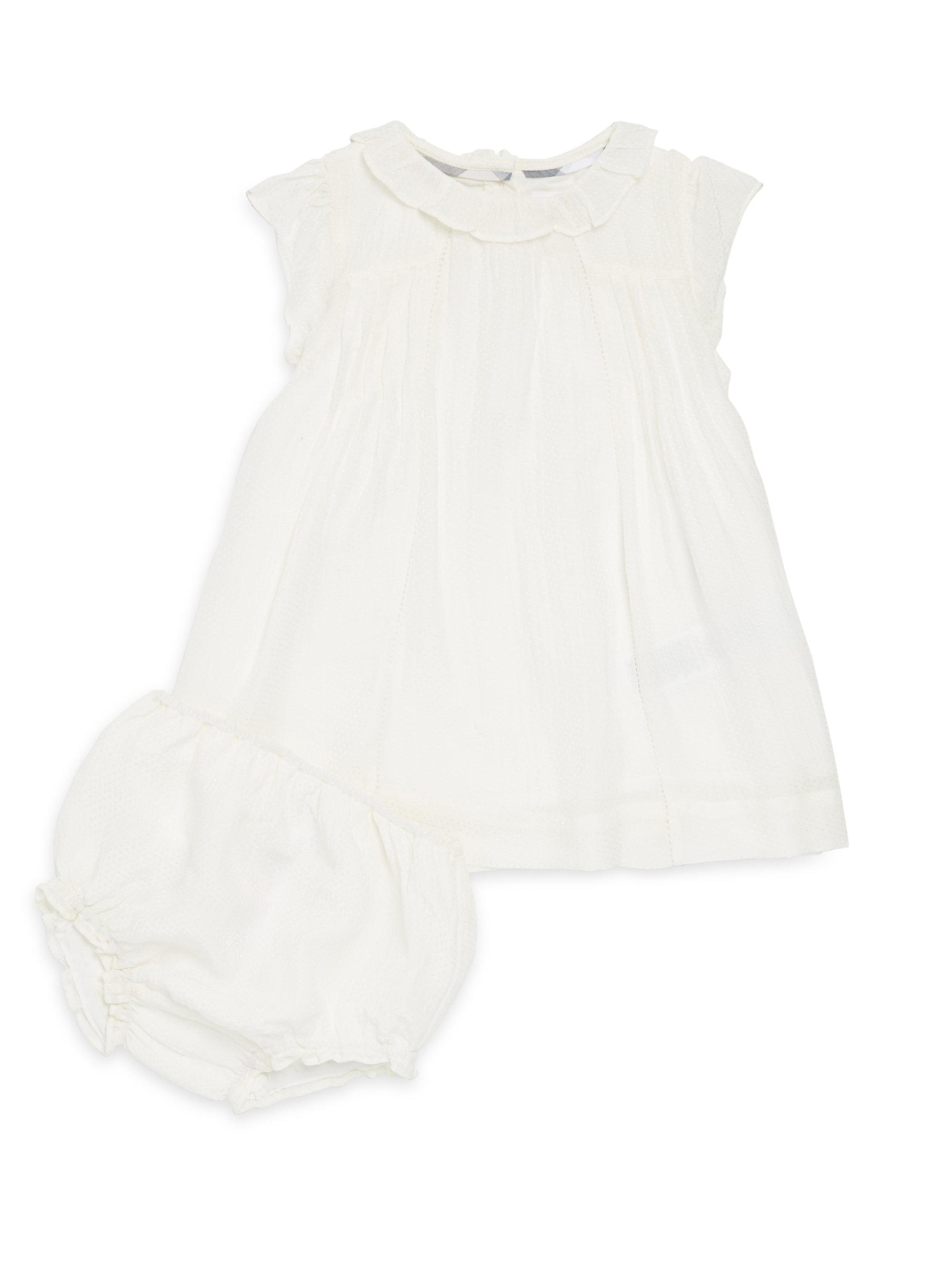 Lyst Burberry Baby Girl s Cressy Dress And Bloomers Set in White