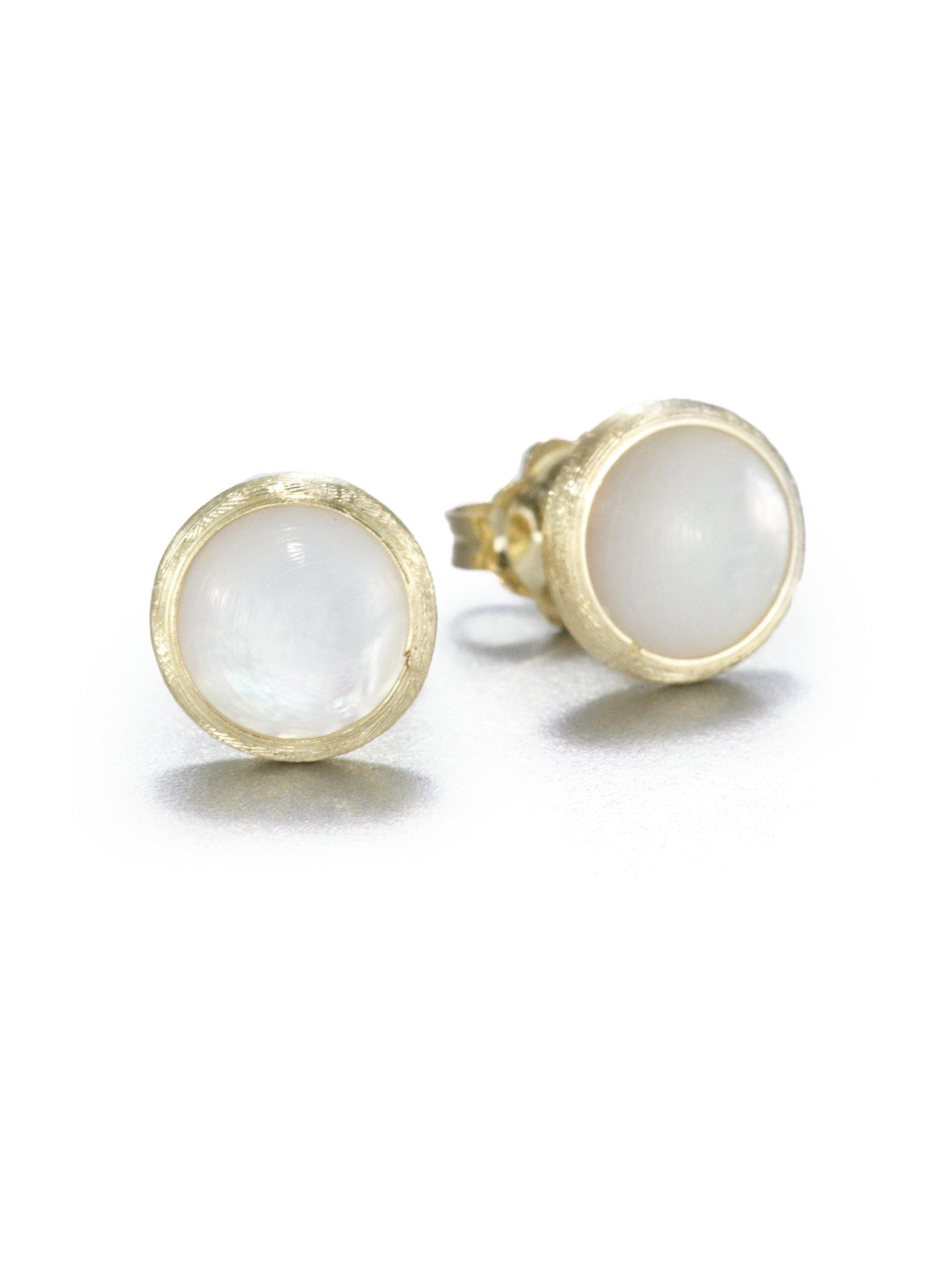 Marco Bicego Jaipur Mother-of-Pearl Stud Earrings p0mg8t2