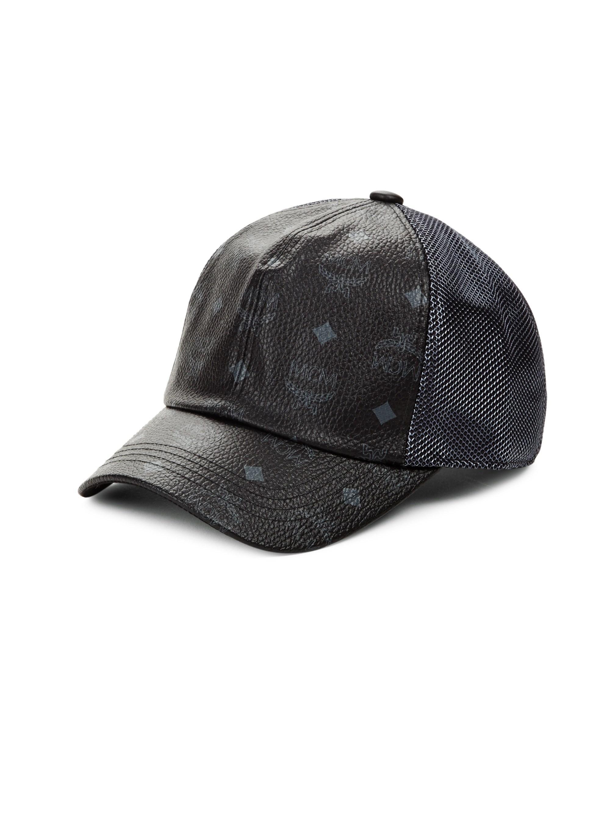c3e2448071b Lyst - MCM Baseball Cap in Black for Men - Save 31%