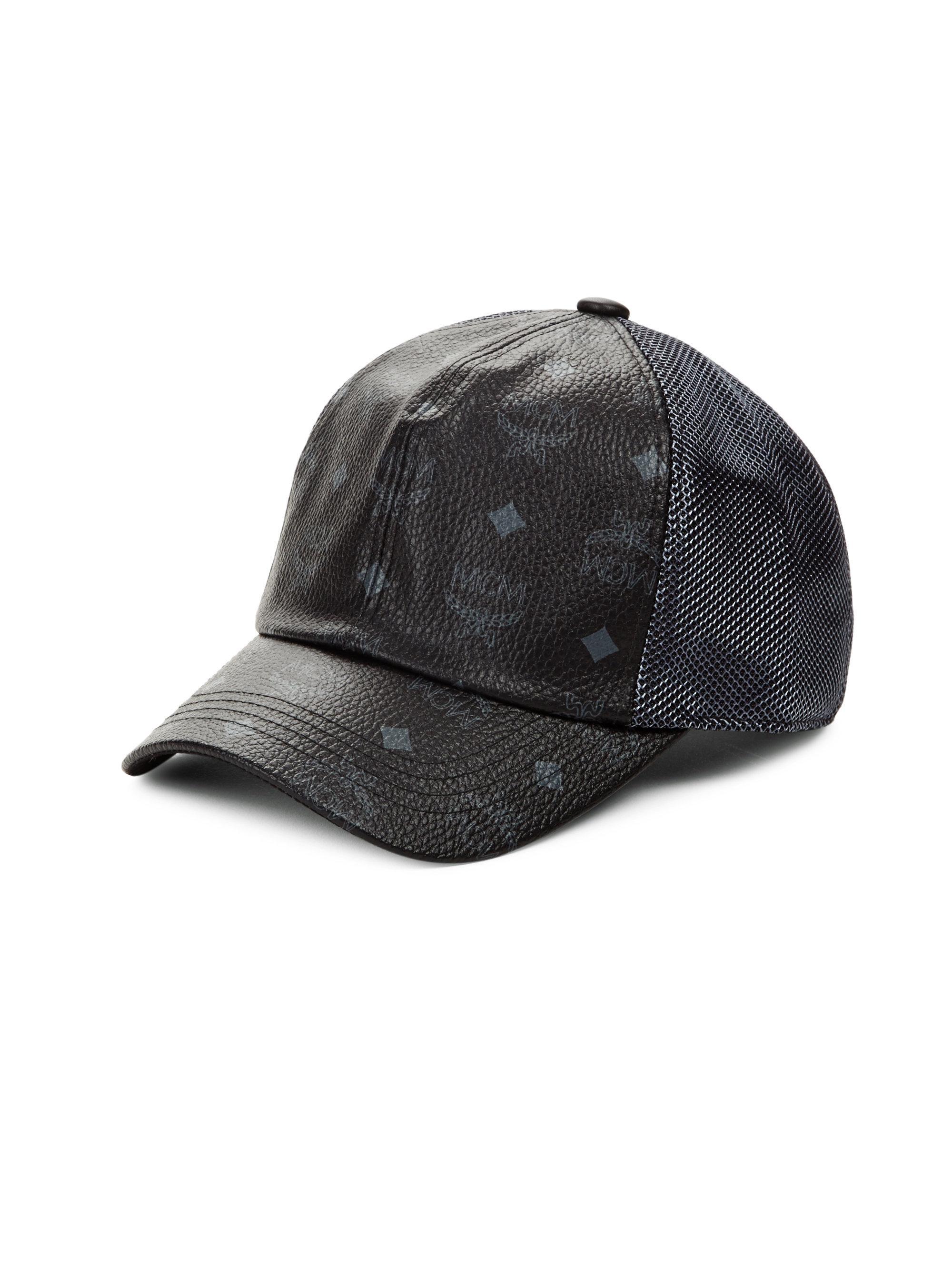 cdcc0e60916 Mcm Collection Visetos Cap in Black for Men - Save 1% - Lyst