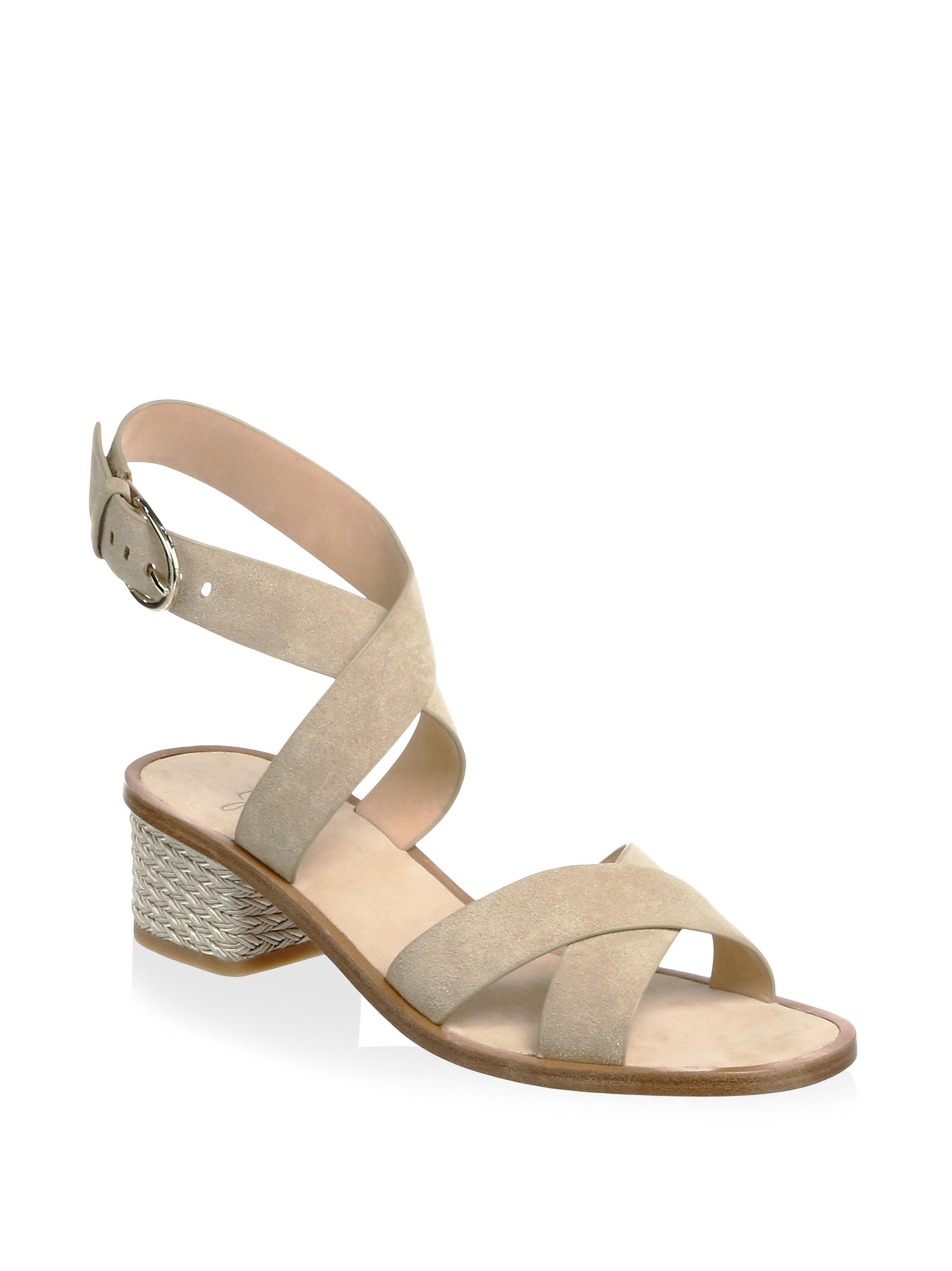 Joie Rana Leather Ankle Strap Sandals HyqaZEa
