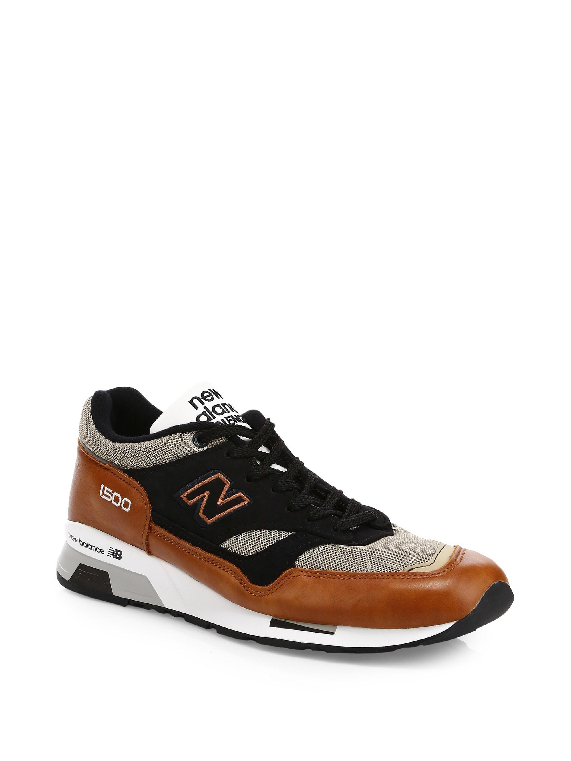 1500 Made In Uk Leather Sneakers