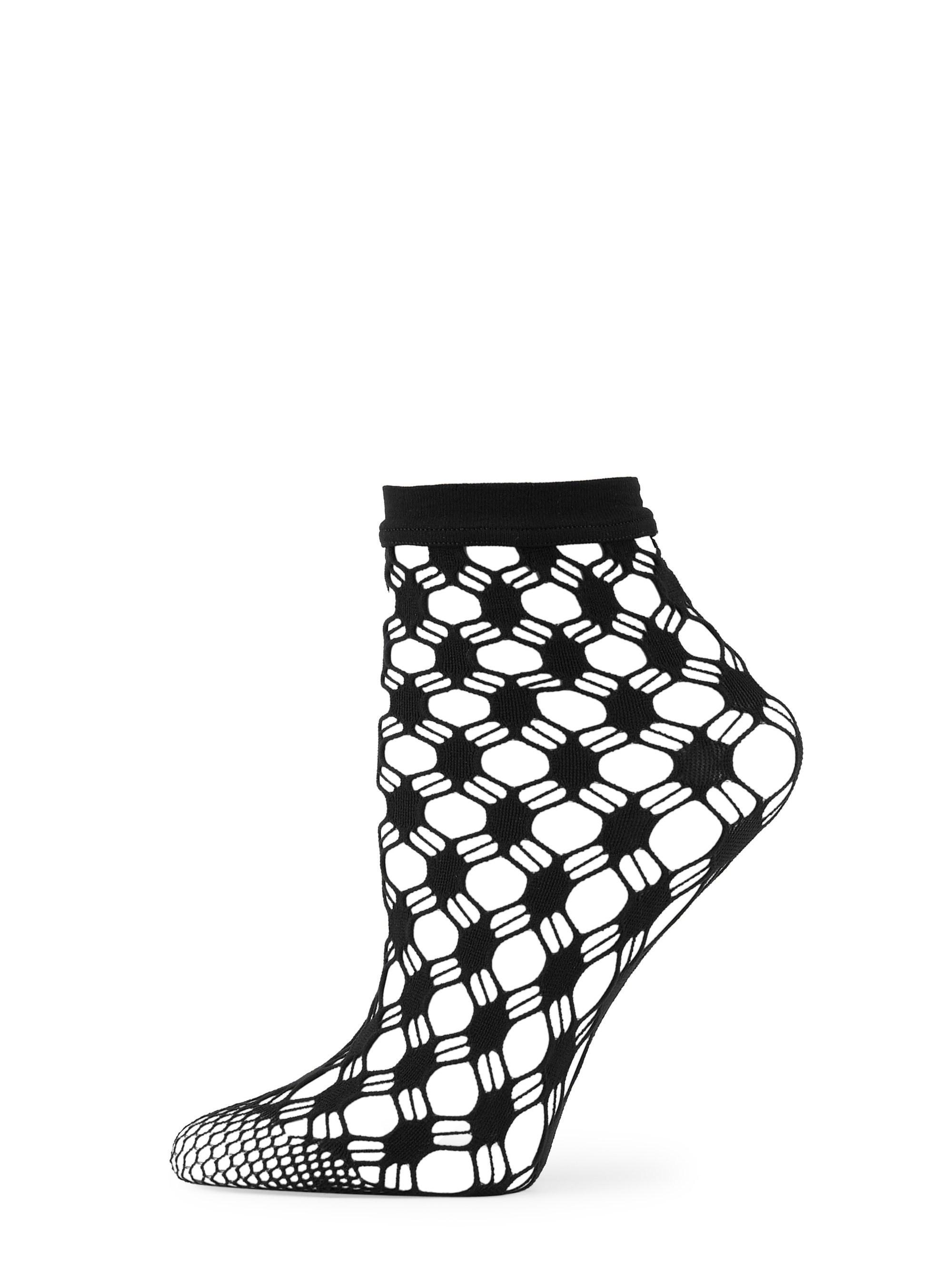 851d3de0e27 Wolford Athina Fishnet Socks in Black - Lyst