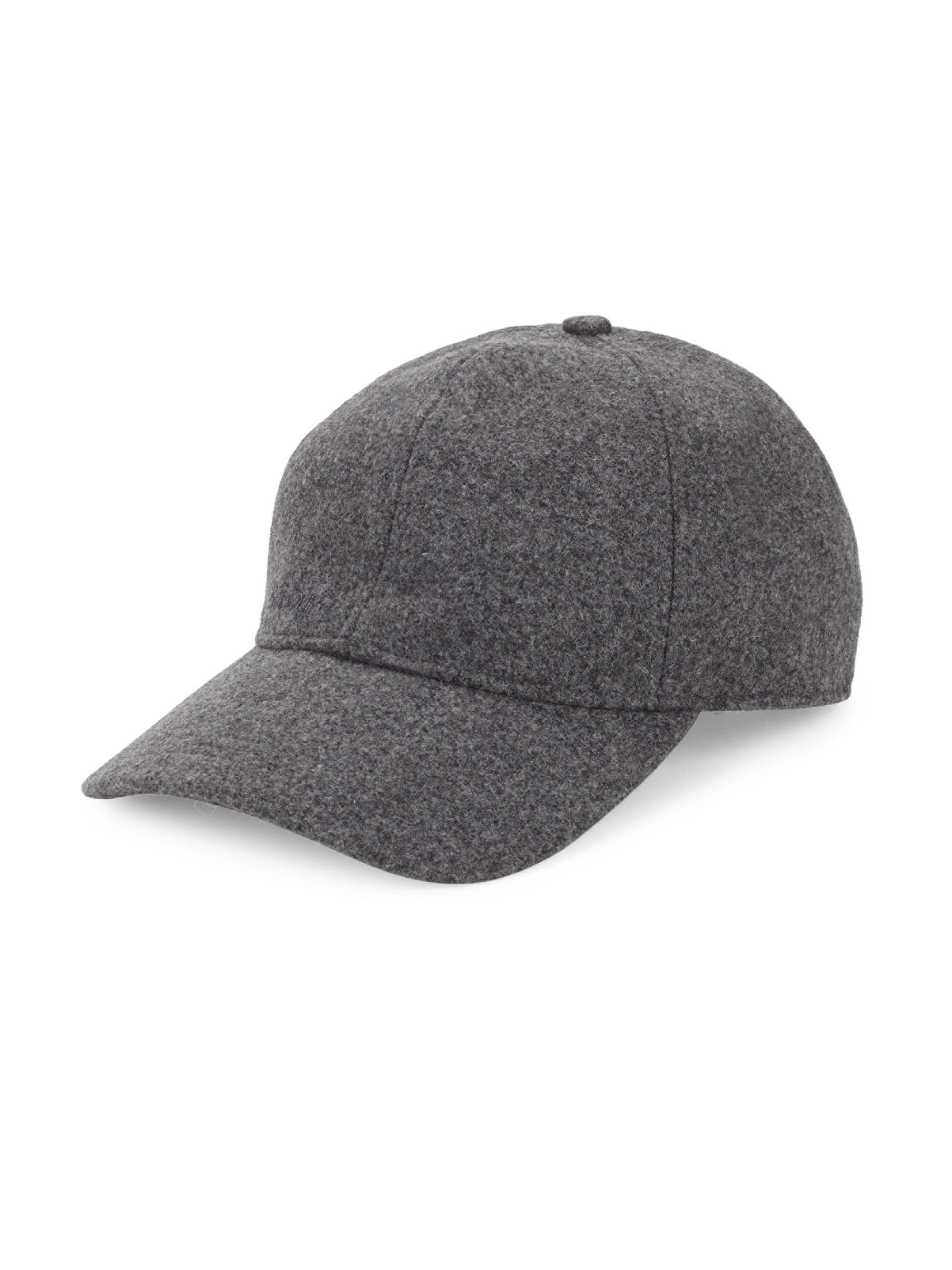15ea613dd3e Lyst - Barbour Coopworth Wool-blend Sports Cap in Gray for Men