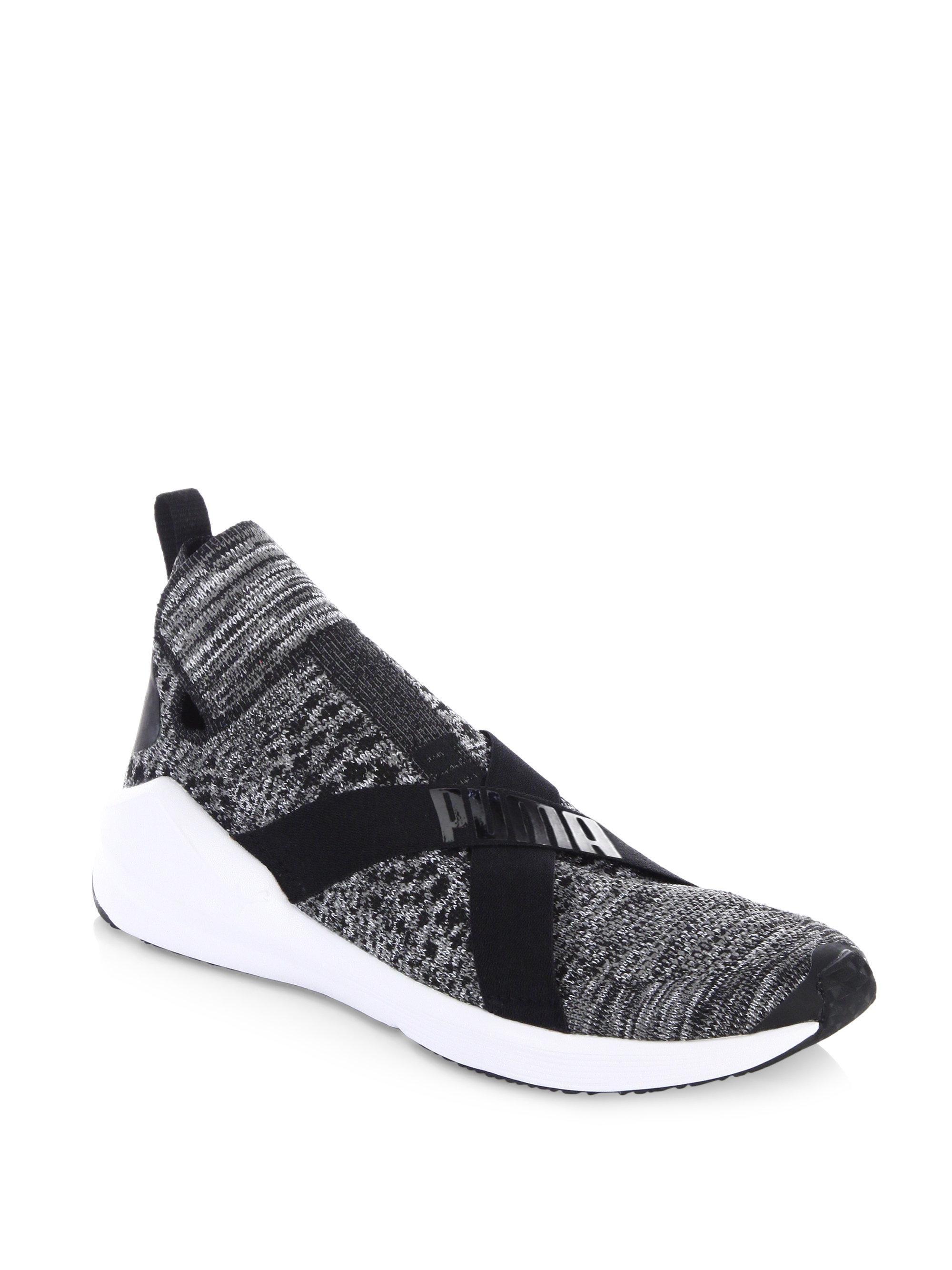 ... Women  Lyst - Puma Fierce Evoknit Training Shoes in Black ... 8bc03dbaa