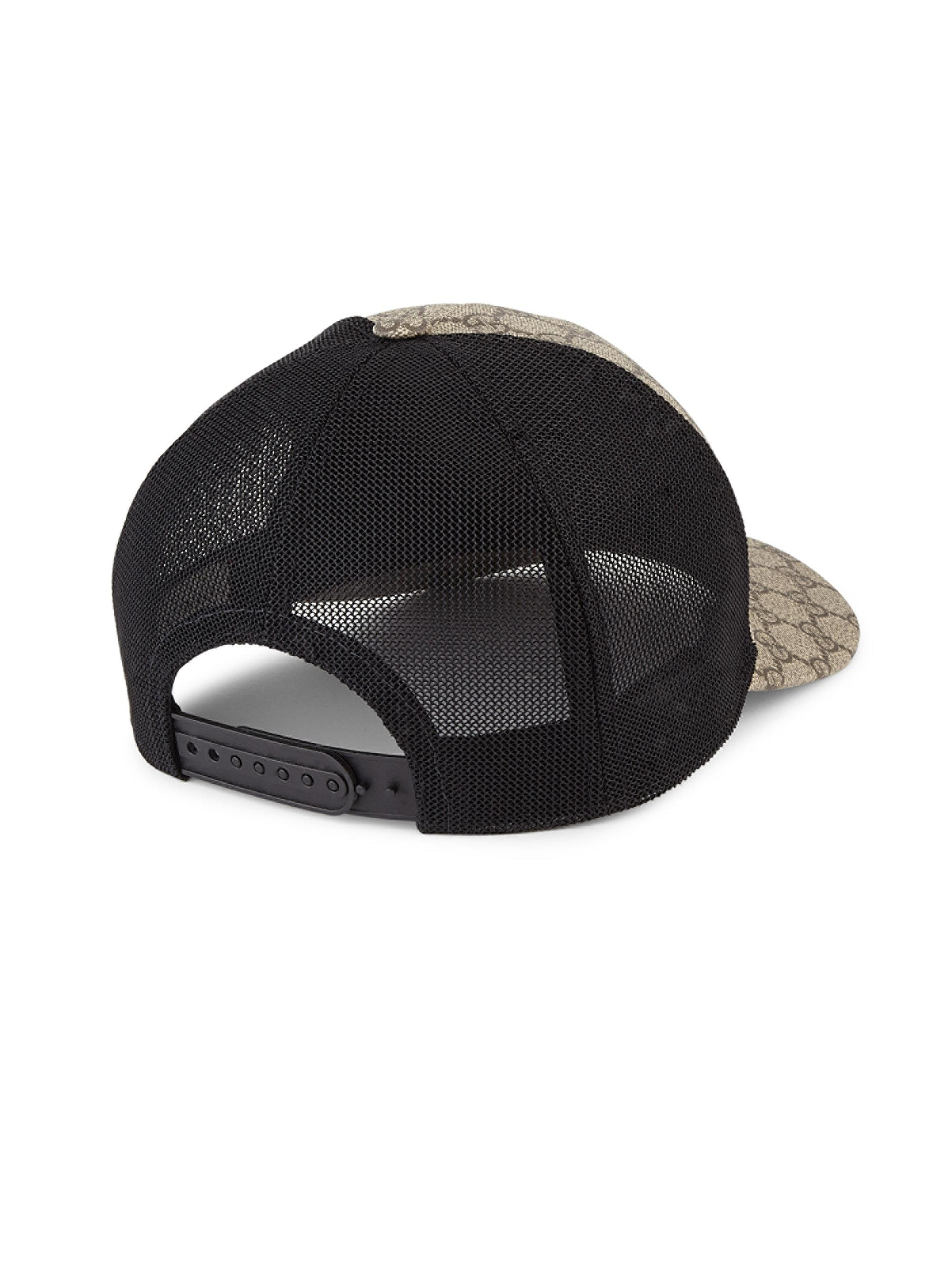 Gucci Gg Supreme Canvas Baseball Cap for Men - Lyst cb43d0325b1