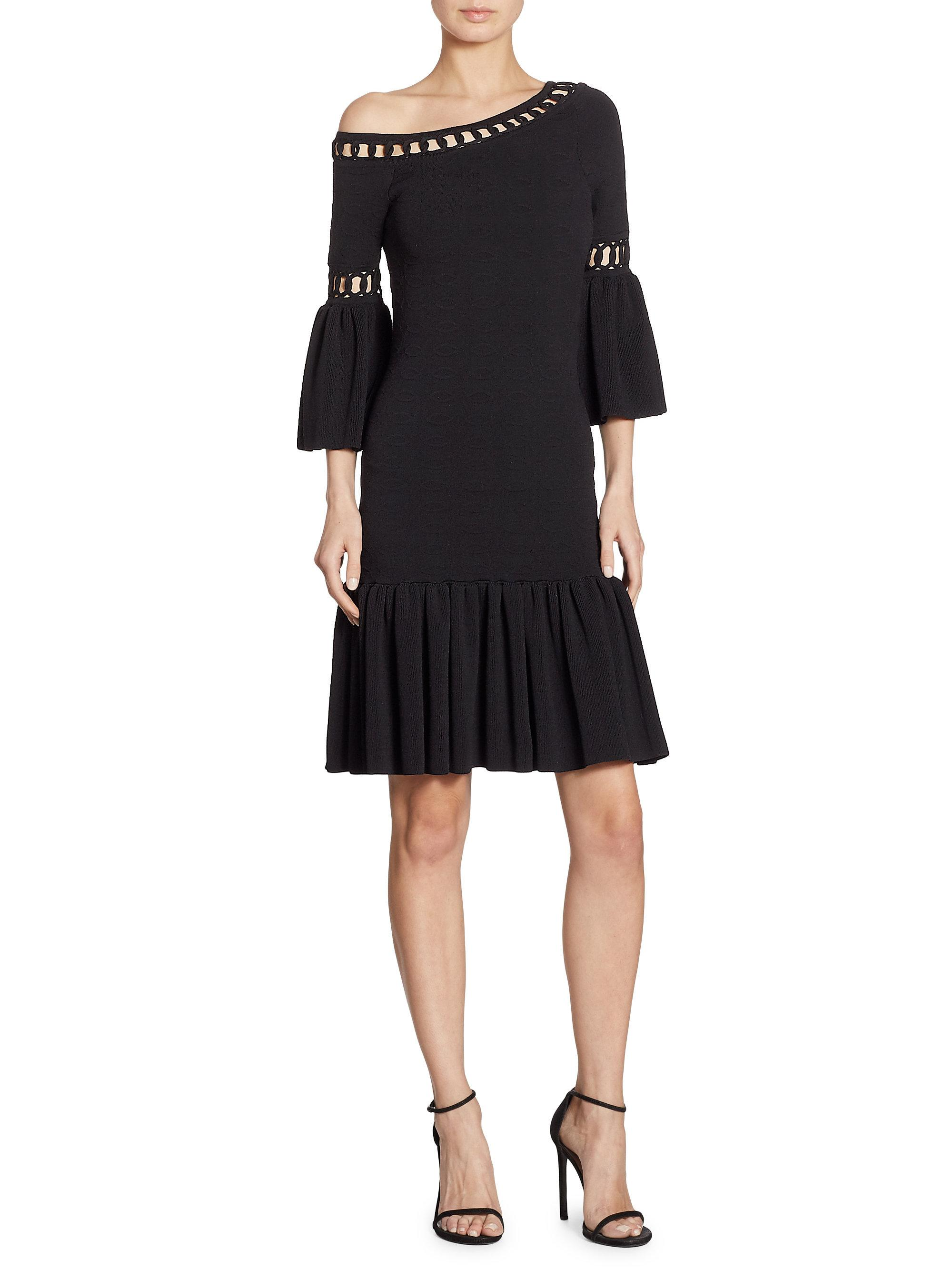 Lyst Jonathan Simkhai Chainlink Knit Fit Amp Flare One