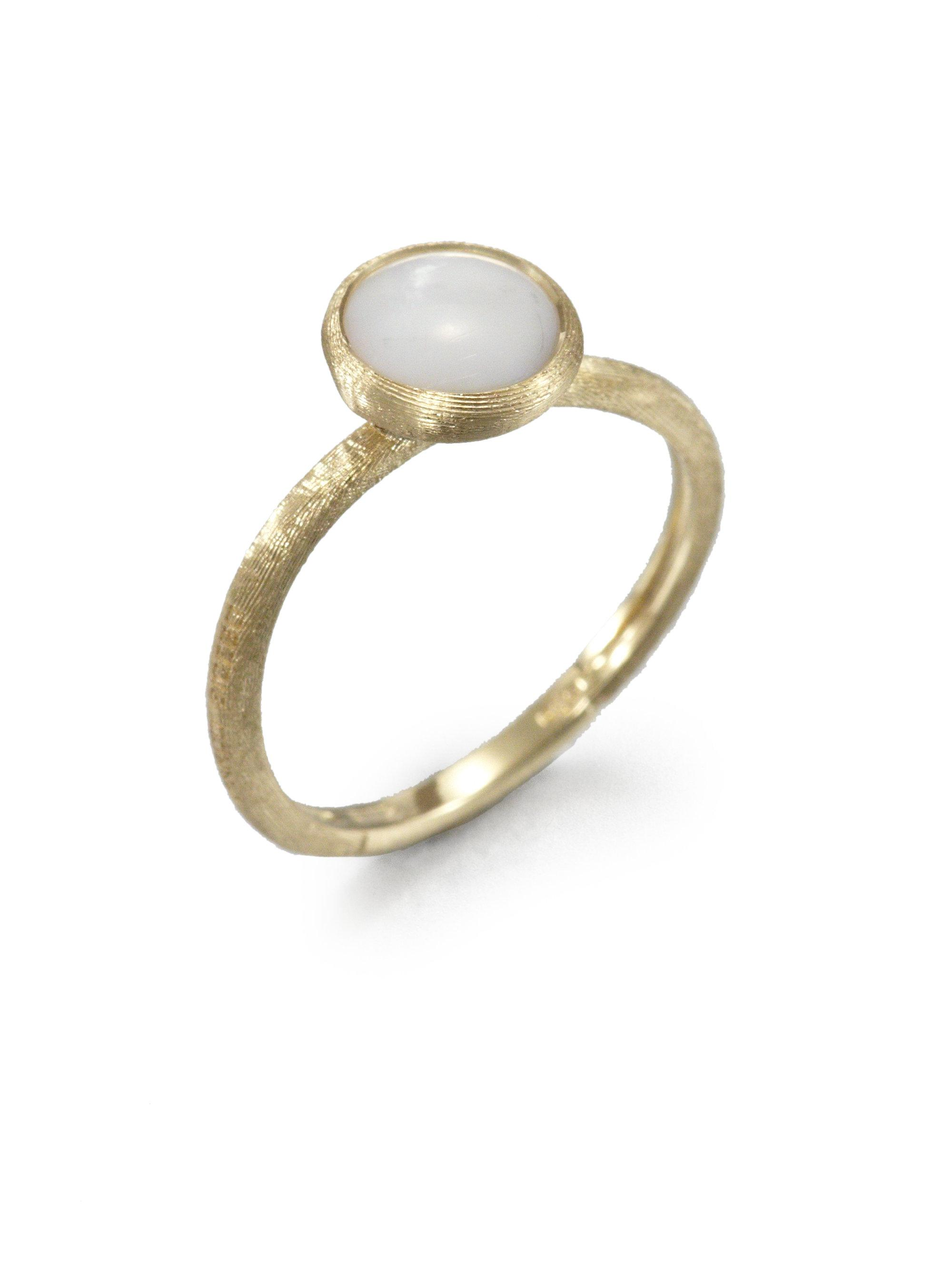 Marco Bicego Jaipur Mother-of-Pearl Stackable Ring 5jaW0Q