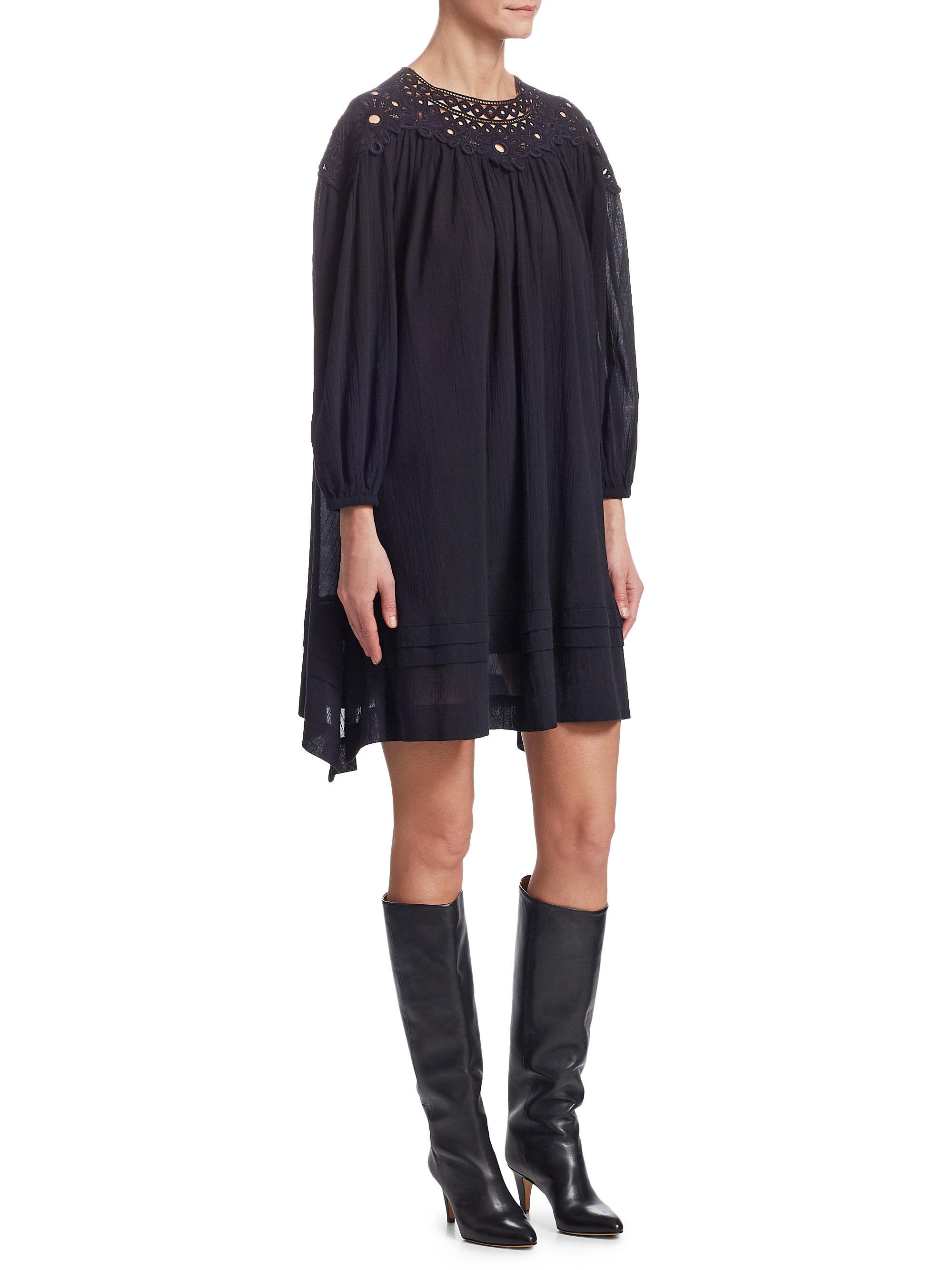 Cheapest Cheap Price Rita cut-out detail dress - Black Isabel Marant Best Place Outlet Low Price Fee Shipping Buy Cheap Good Selling y2HVf11y