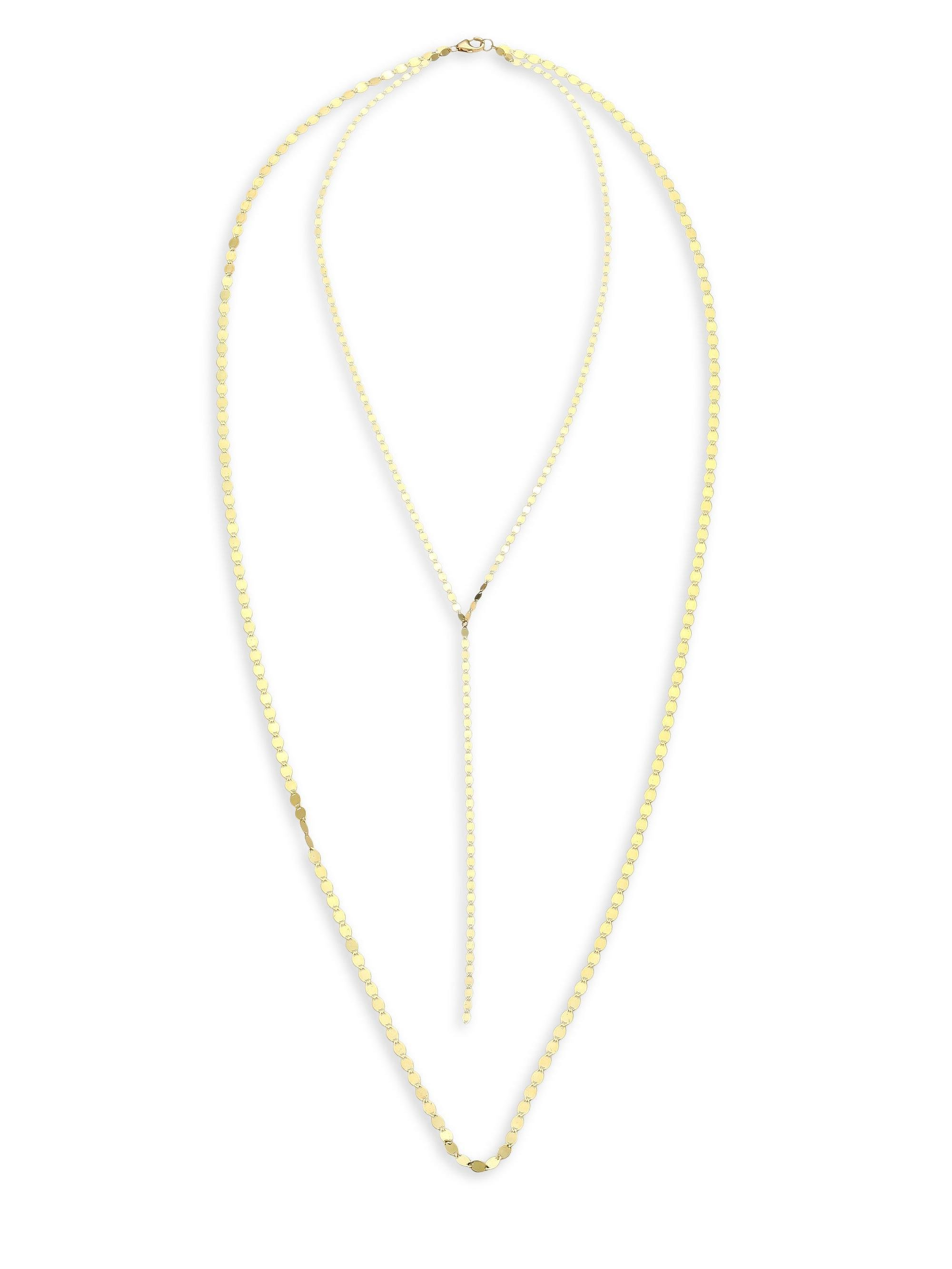 LANA JEWELRY 14k Nude Duo Necklace   SHOPBOP   New To Sale