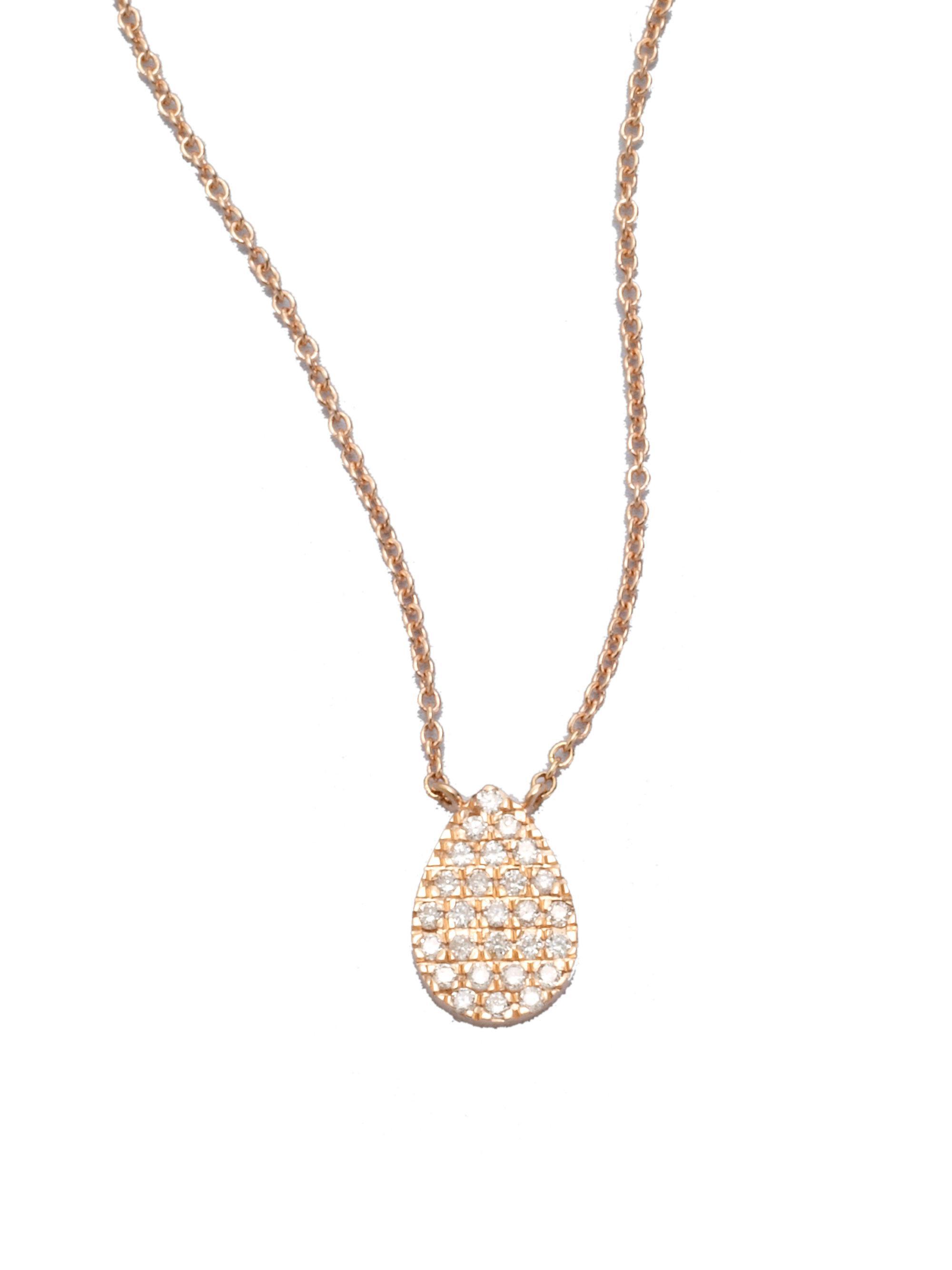 Diane Kordas Diamond & rose-gold agate necklace 6h9TY